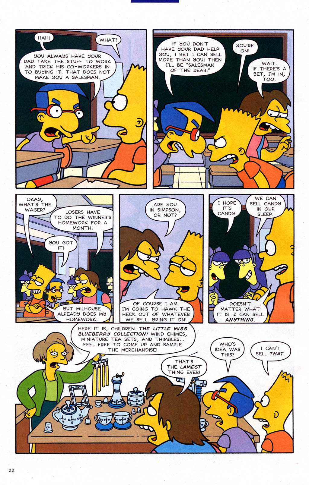 Read online Simpsons Comics Presents Bart Simpson comic -  Issue #22 - 24