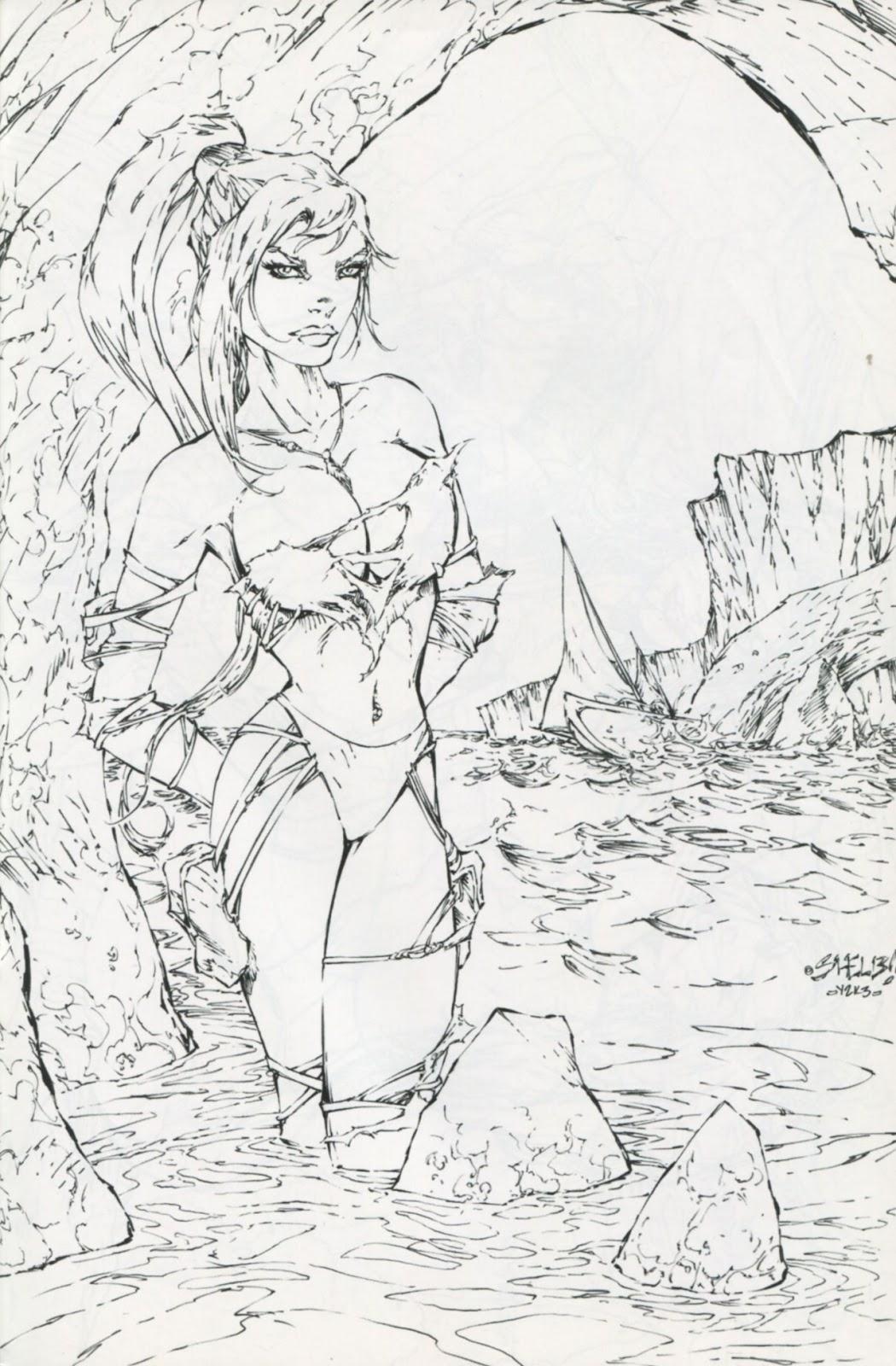 Read online Latex Alice - Bikini Bash Swimsuit Special comic -  Issue # Full - 21