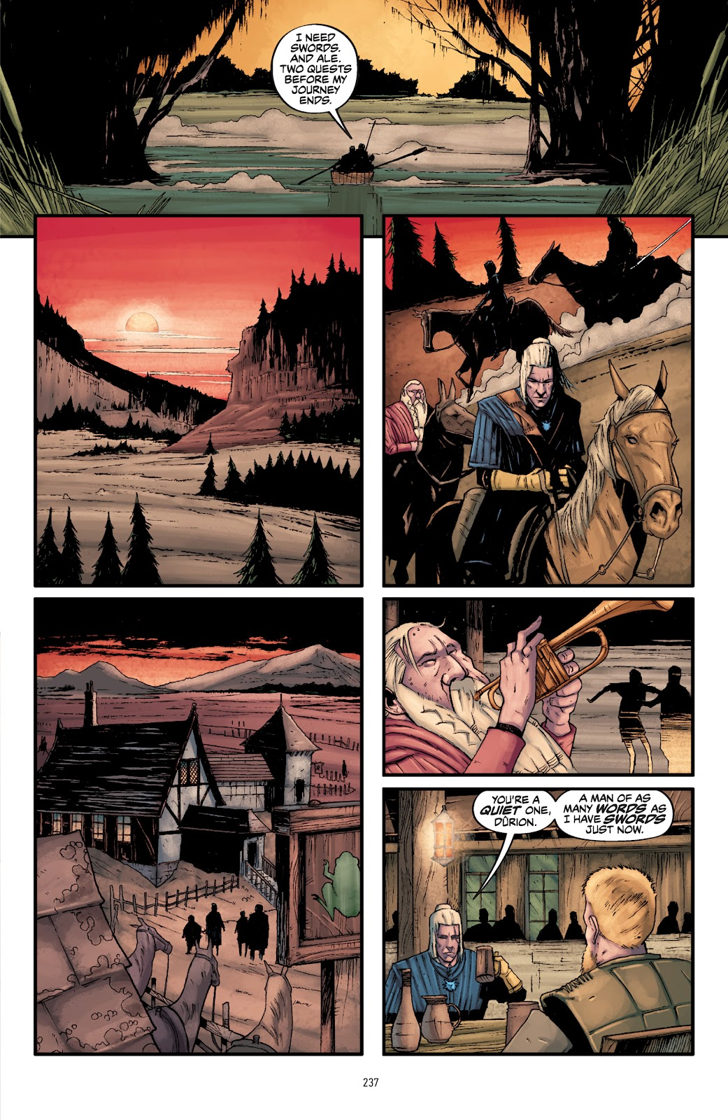 Read online The Witcher Omnibus comic -  Issue # TPB (Part 3) - 39