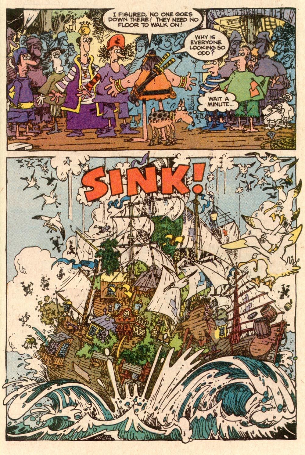 Read online Sergio Aragonés Groo the Wanderer comic -  Issue #57 - 21