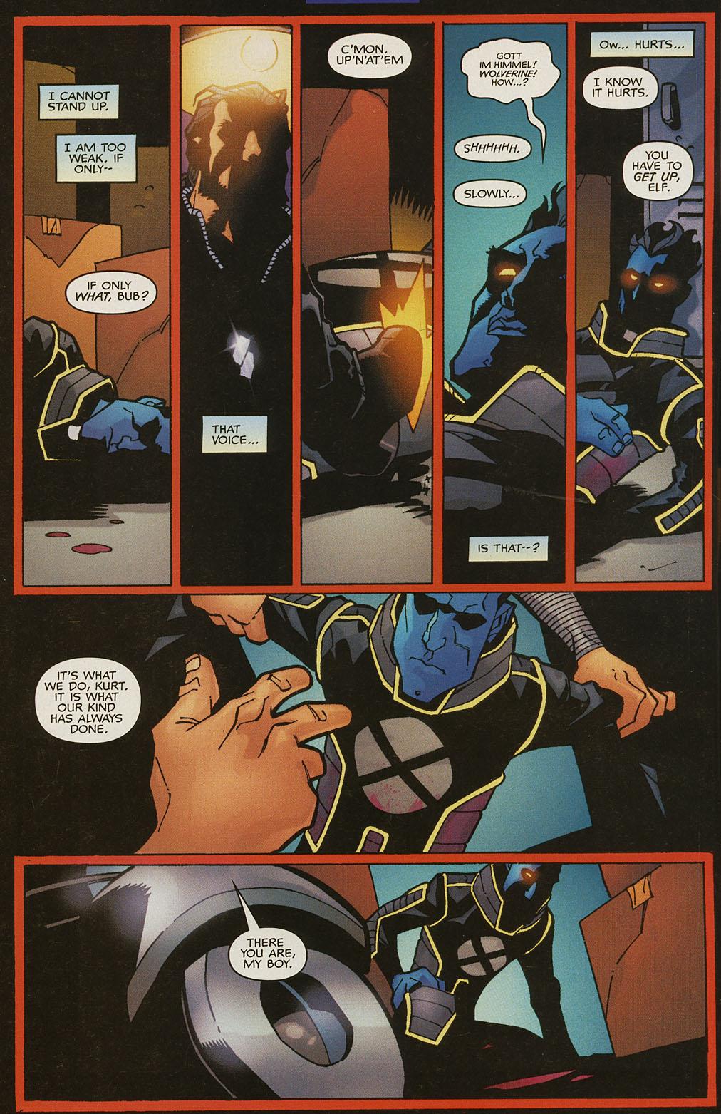 Read online Nightcrawler (2002) comic -  Issue #4 - 3