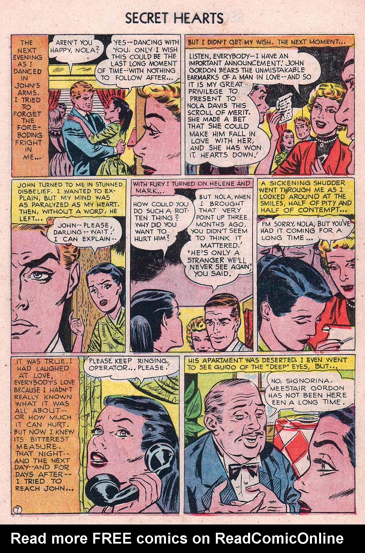 Read online Secret Hearts comic -  Issue #12 - 9