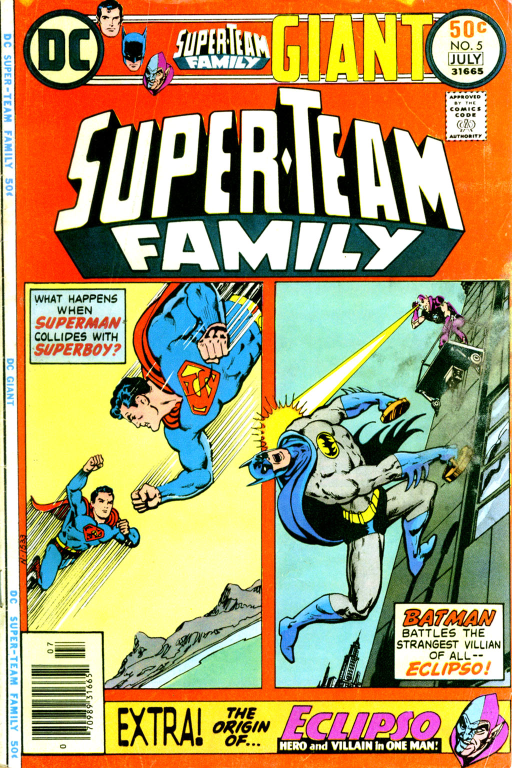 Super-Team Family issue 5 - Page 1