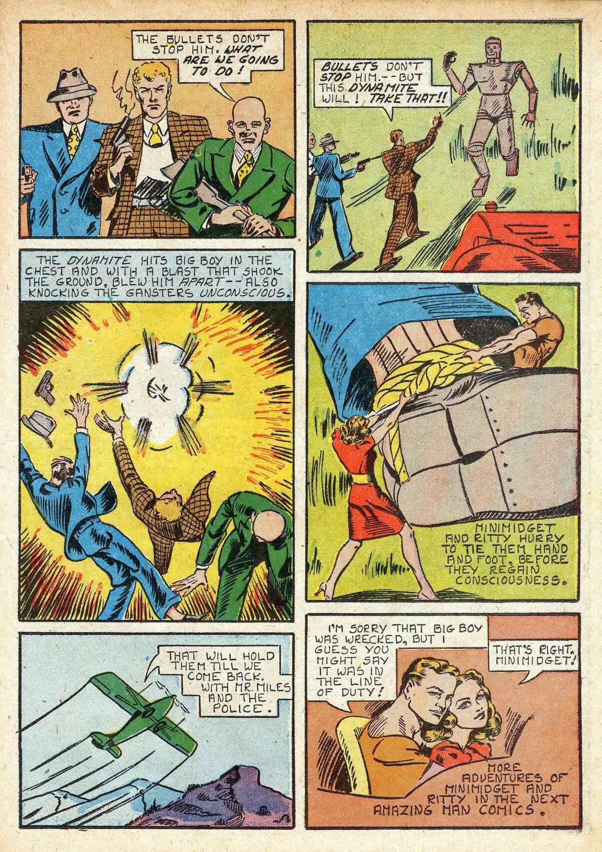 Read online Amazing Man Comics comic -  Issue #16 - 29