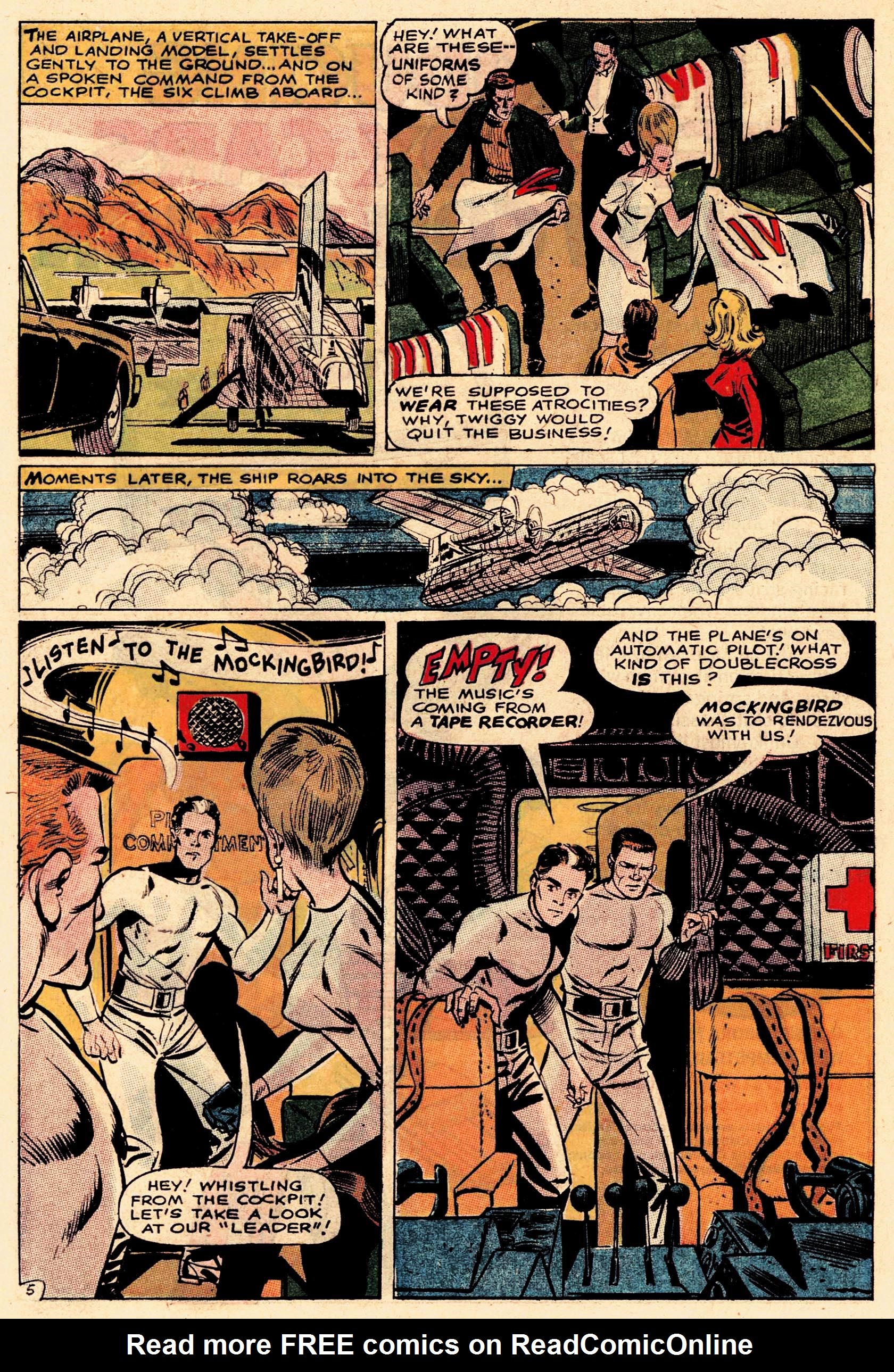 Read online Secret Six (1968) comic -  Issue #1 - 8