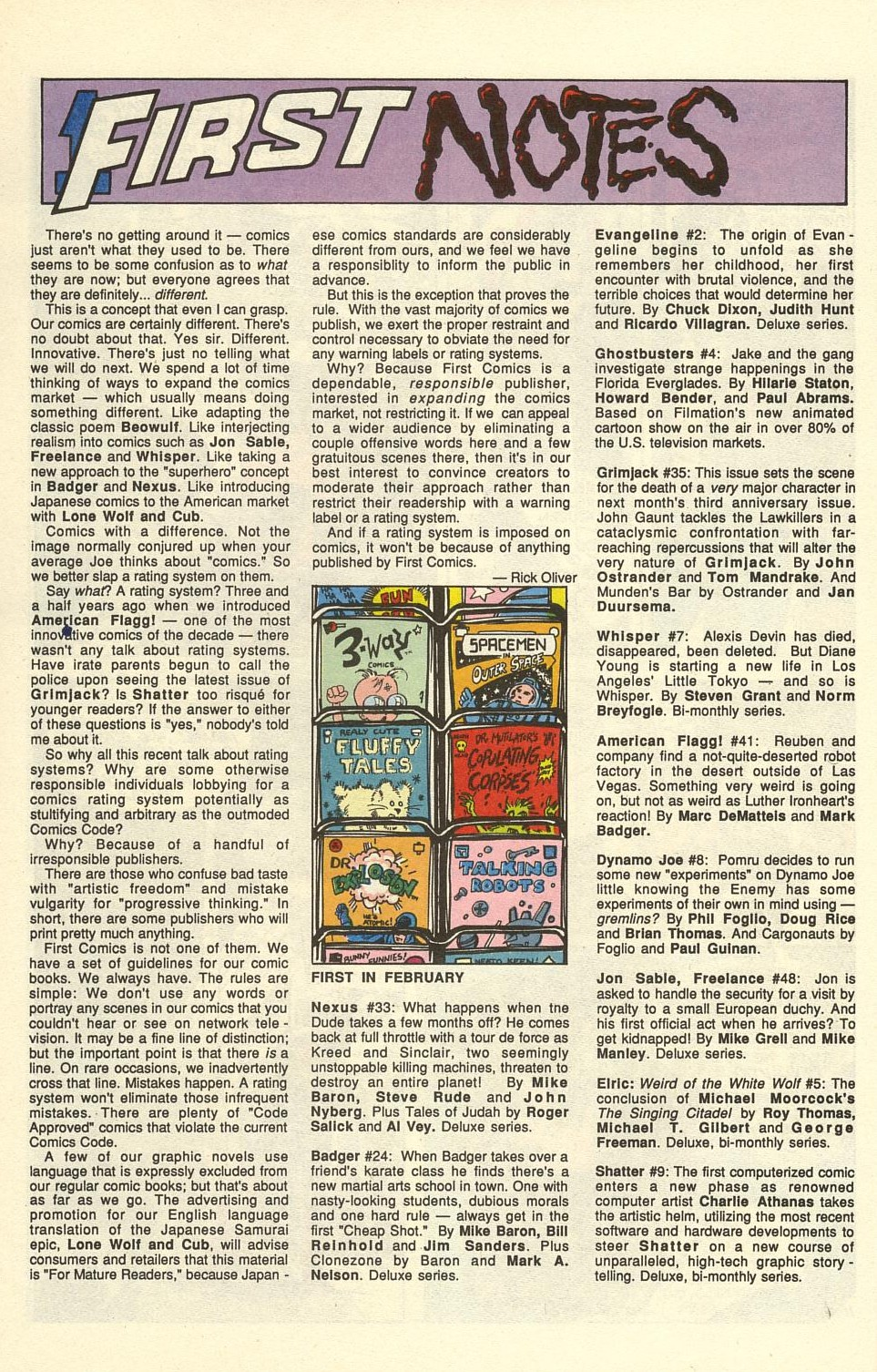 Read online American Flagg! comic -  Issue #41 - 14