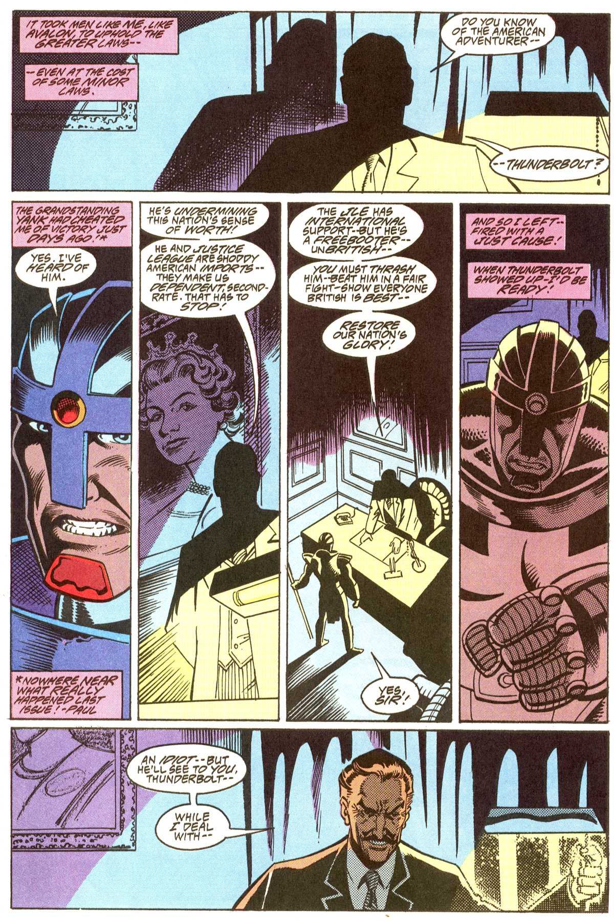 Read online Peter Cannon--Thunderbolt (1992) comic -  Issue #8 - 13