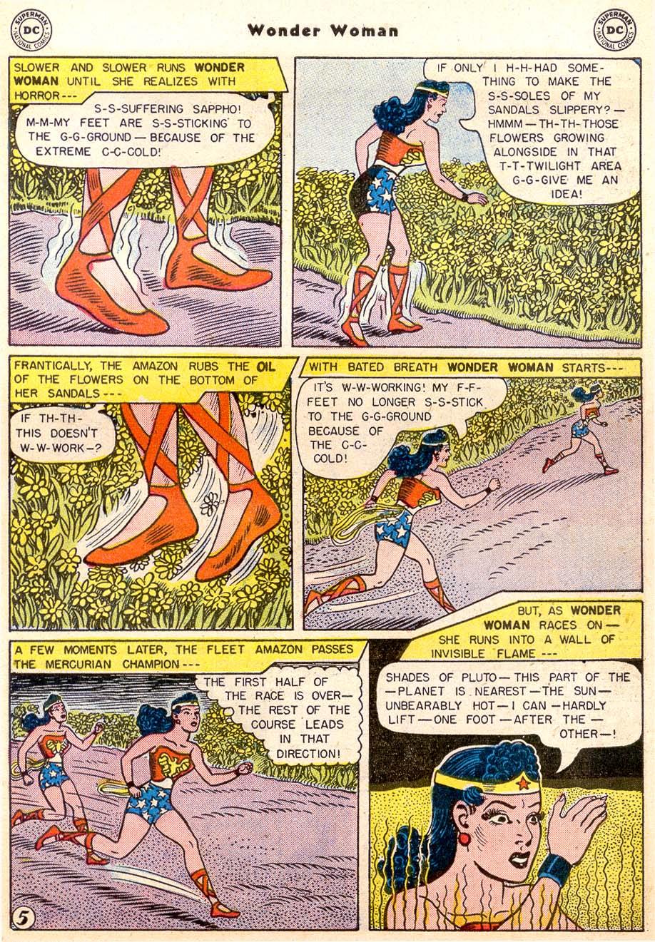 Read online Wonder Woman (1942) comic -  Issue #91 - 7