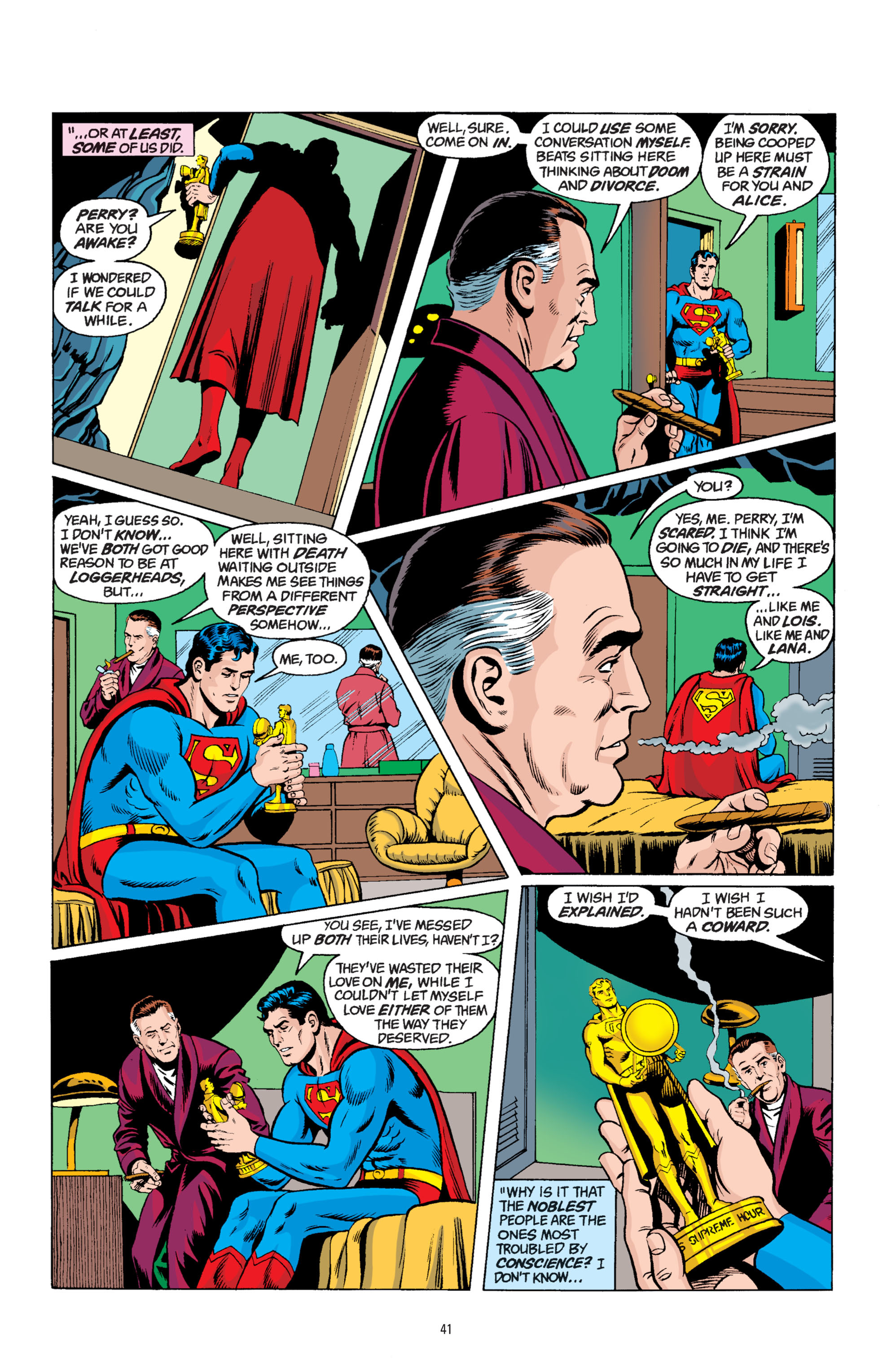 Read online Superman: Whatever Happened to the Man of Tomorrow? comic -  Issue # TPB - 40