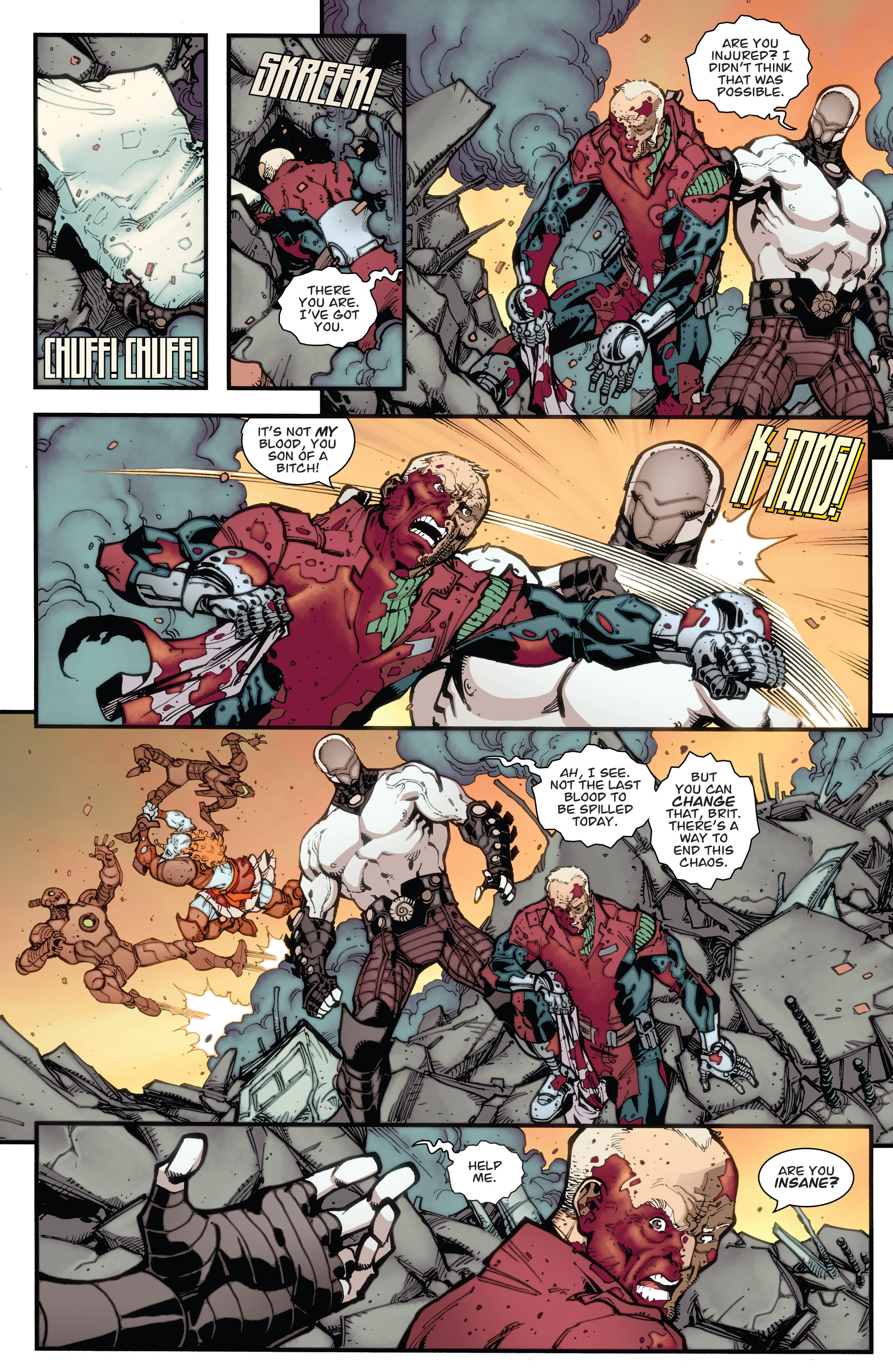 Read online Guarding the Globe (2012) comic -  Issue #6 - 15