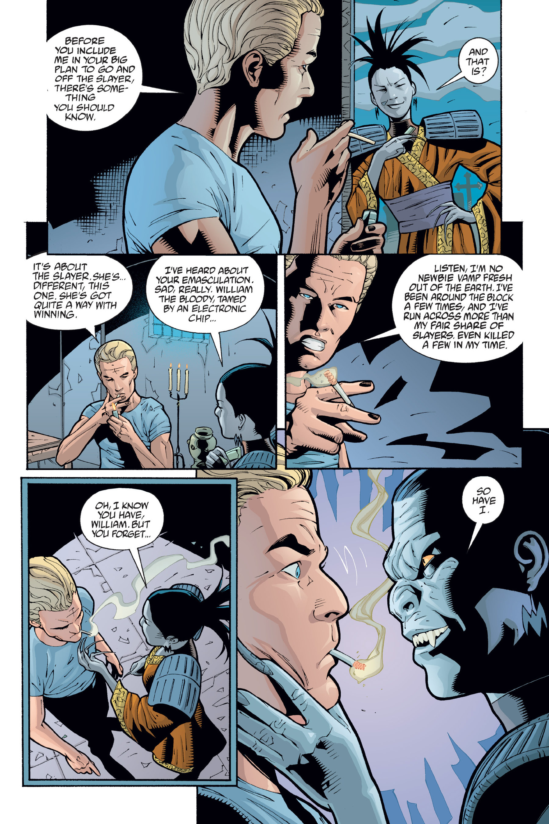 Read online Buffy the Vampire Slayer: Omnibus comic -  Issue # TPB 6 - 346