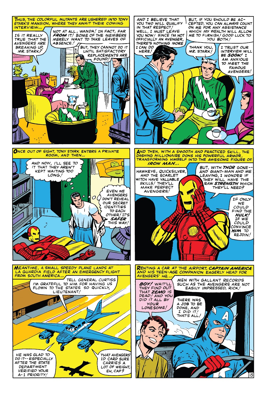 Read online Marvel Tales: Avengers comic -  Issue # Full - 20