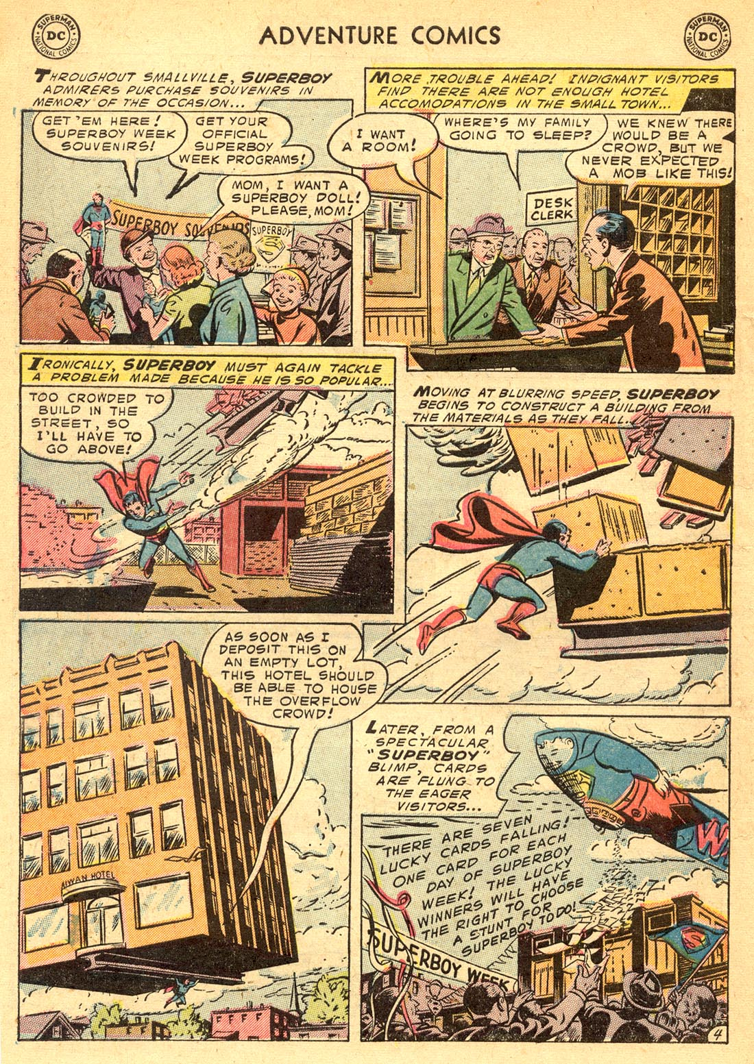 Read online Adventure Comics (1938) comic -  Issue #209 - 6