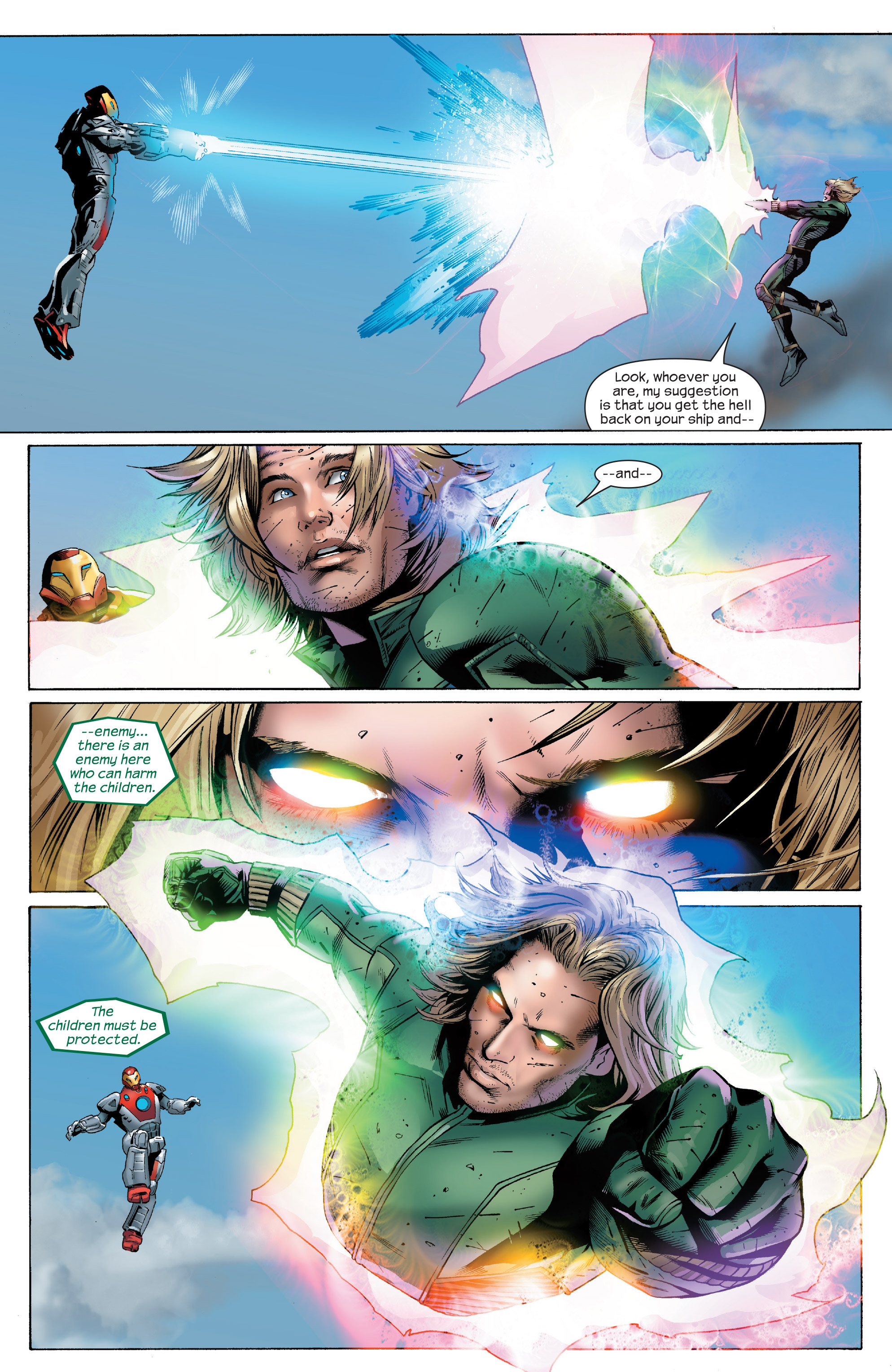 Read online Ultimate Power comic -  Issue #6 - 20