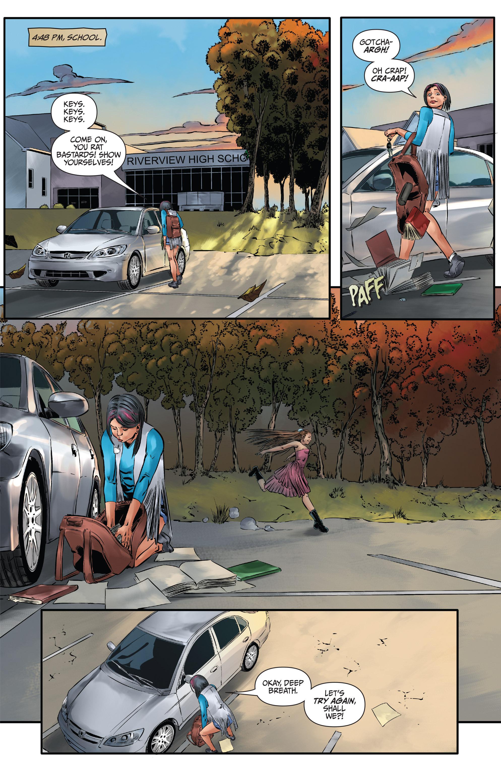 Read online Mercy Thompson comic -  Issue #3 - 21