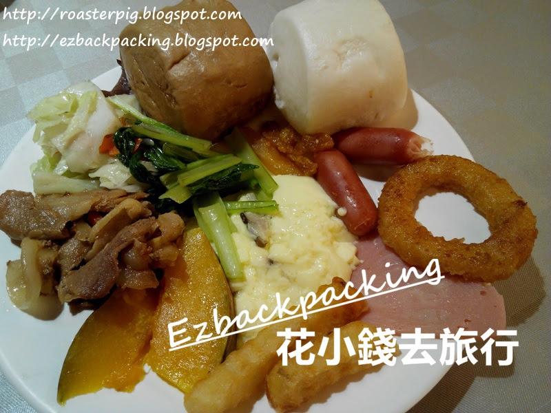 高雄統茂松柏大飯店早餐菜式