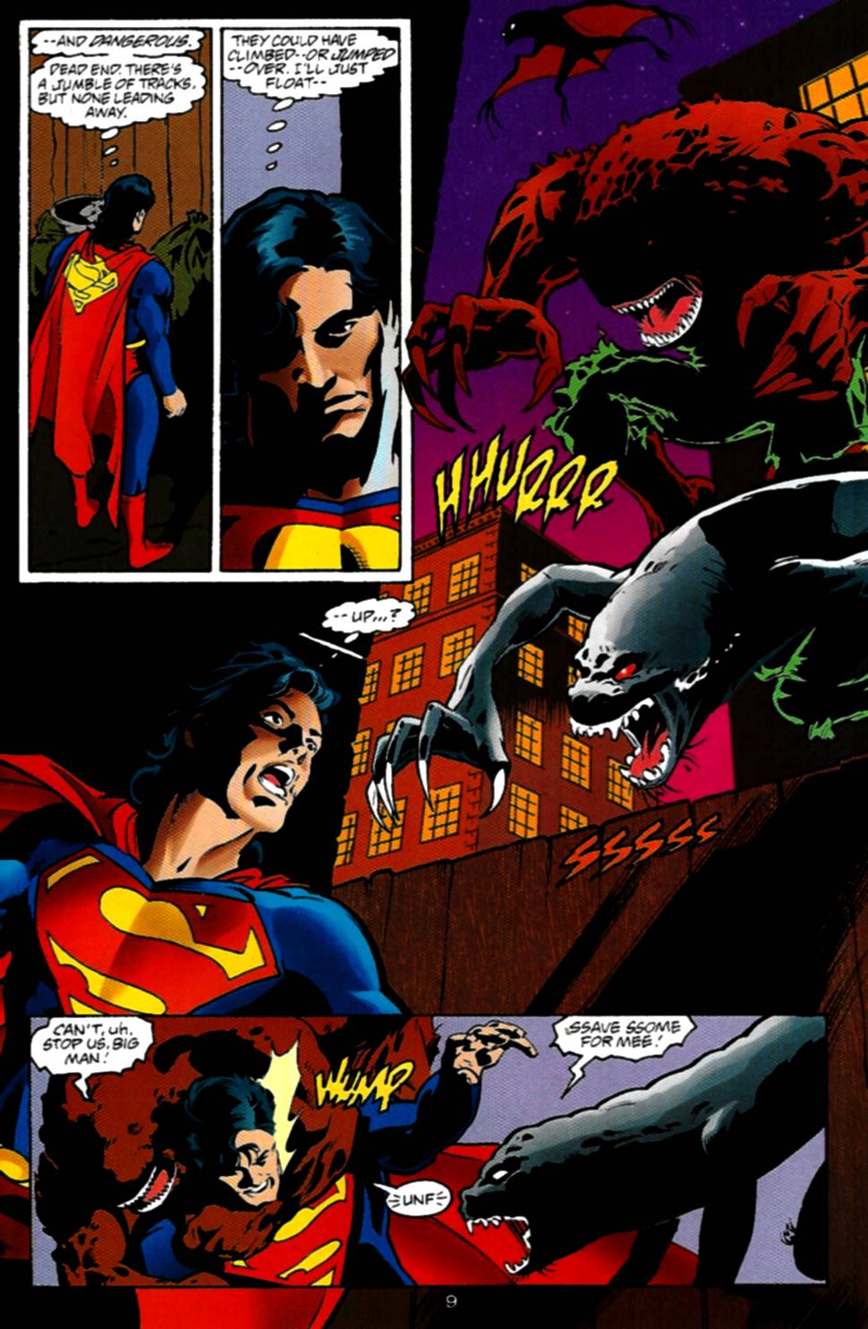 Read online Adventures of Superman (1987) comic -  Issue #534 - 10