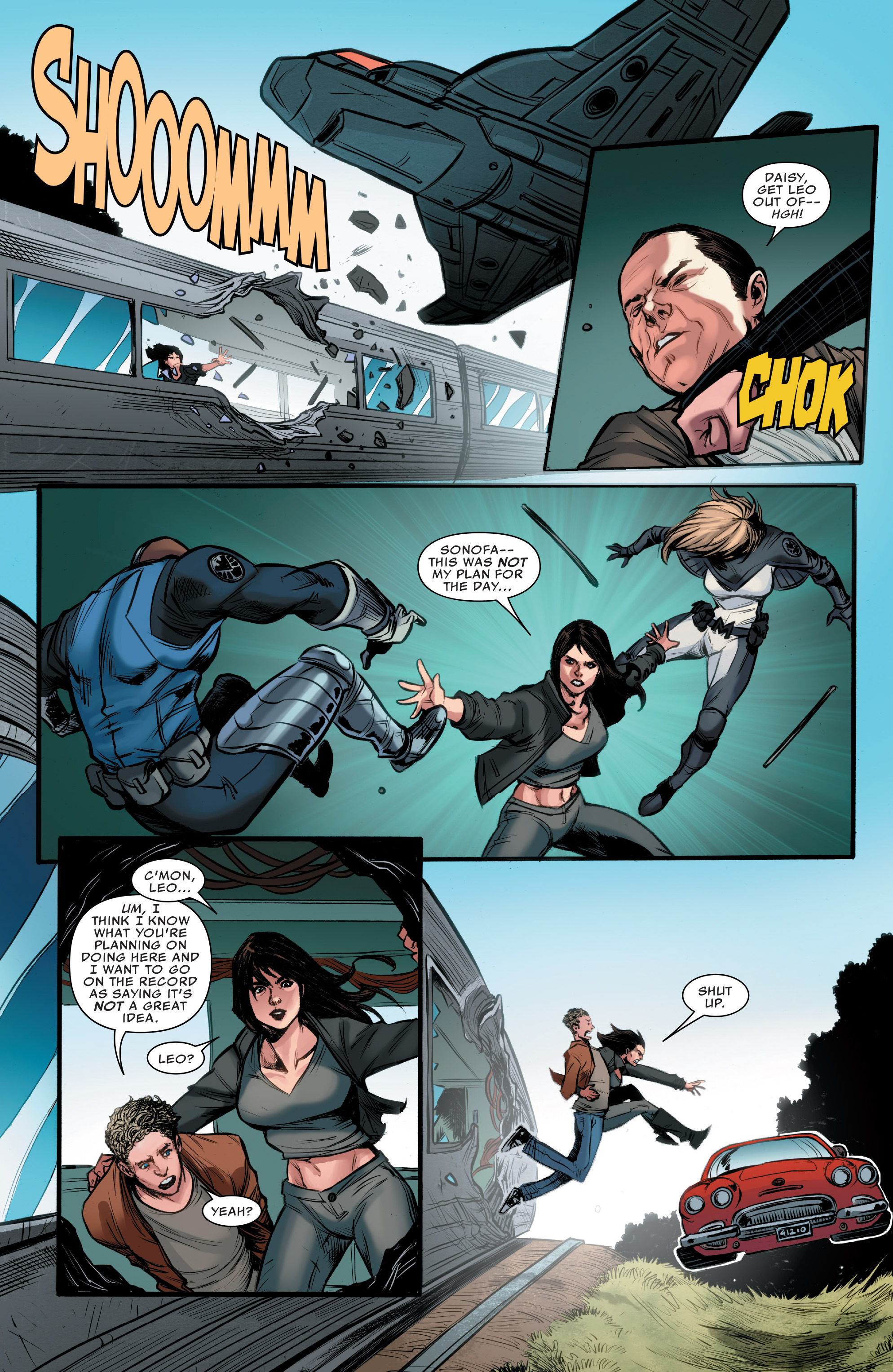 Read online Agents of S.H.I.E.L.D. comic -  Issue #9 - 19