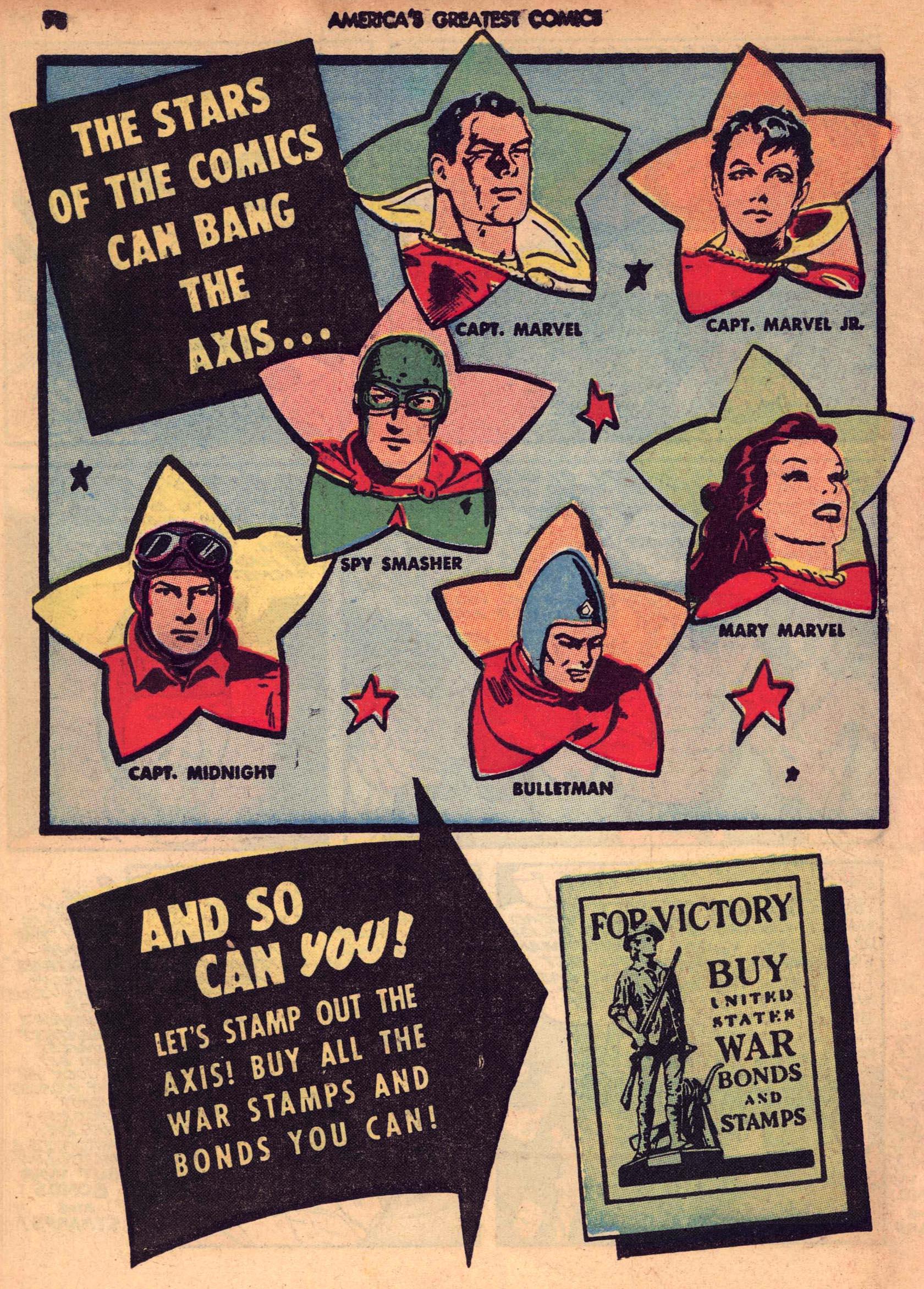 Read online America's Greatest Comics comic -  Issue #7 - 97