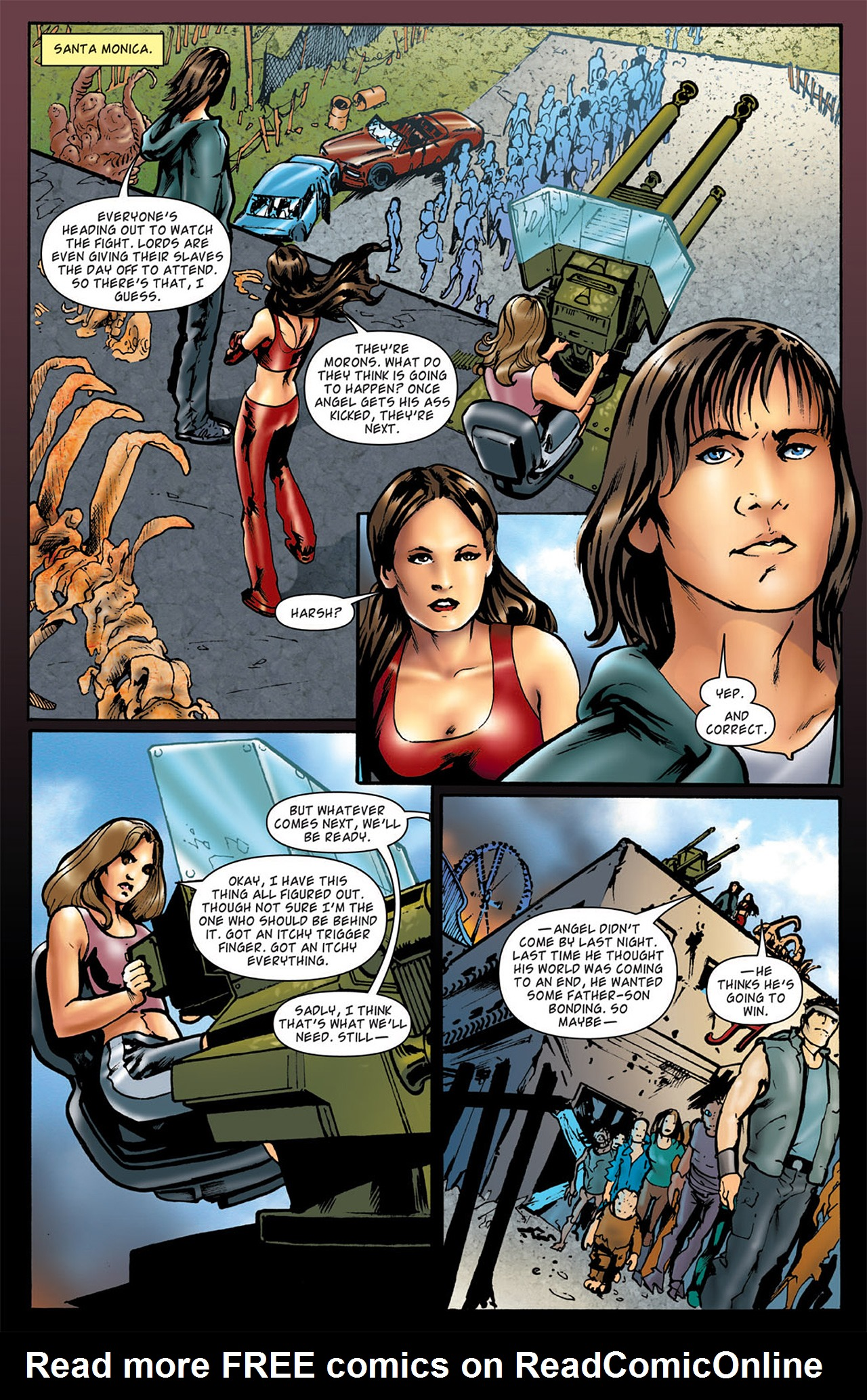 Read online Angel: After The Fall comic -  Issue #5 - 9