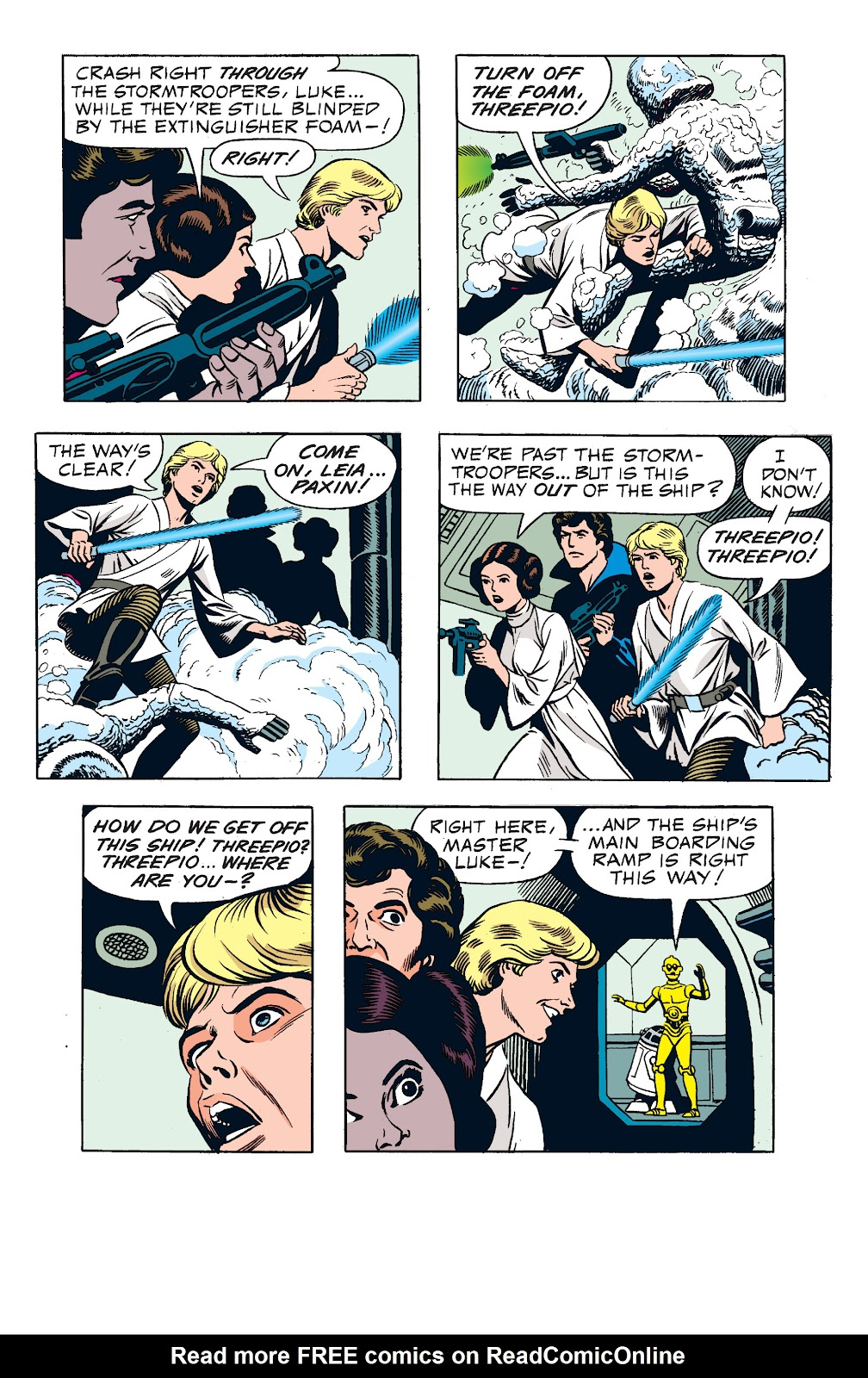 Read online Star Wars Legends: The Newspaper Strips - Epic Collection comic -  Issue # TPB (Part 1) - 72