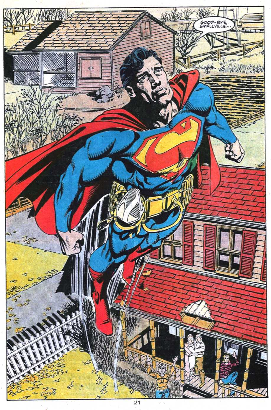 Read online Adventures of Superman (1987) comic -  Issue #450 - 22