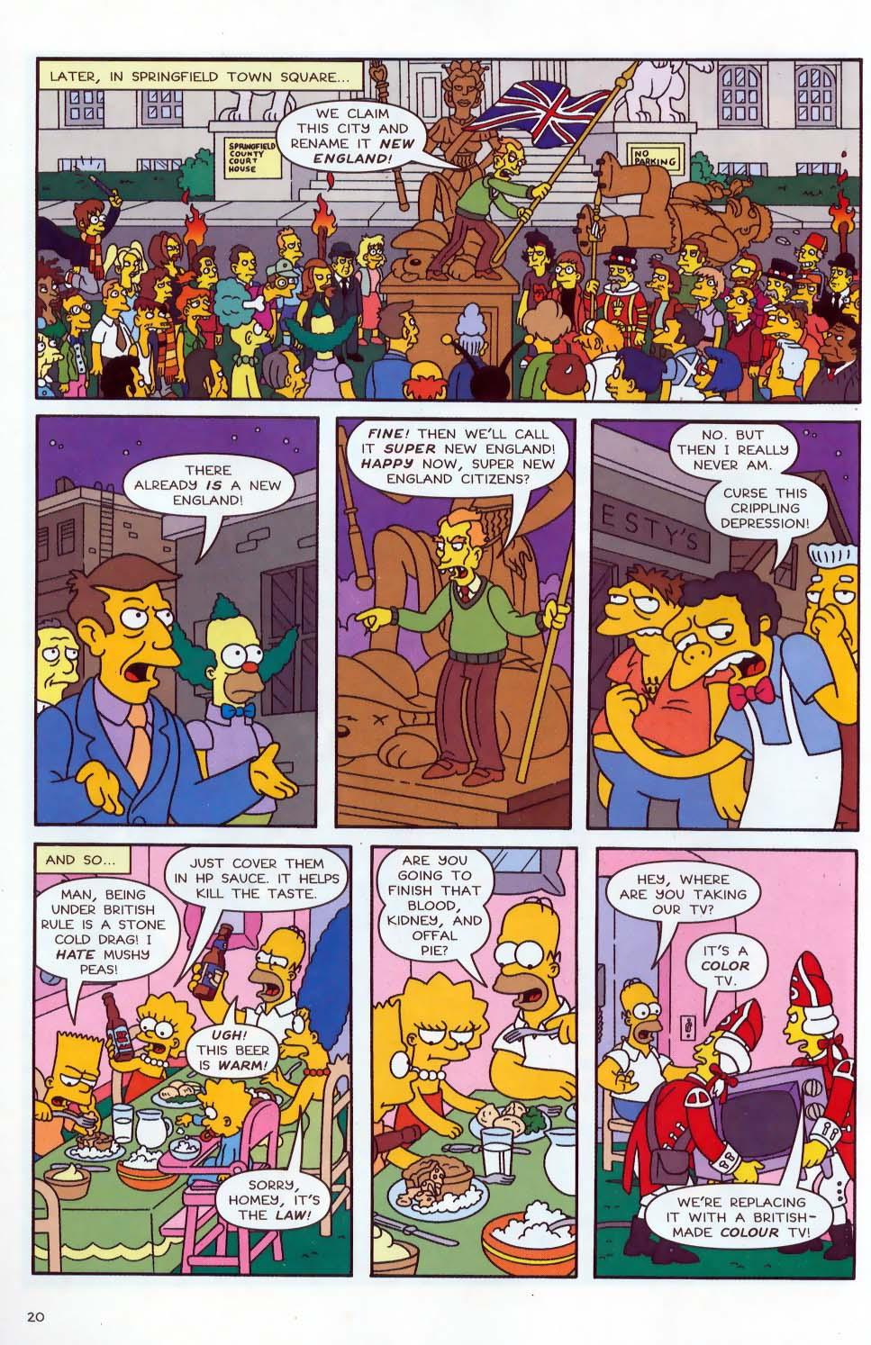 Read online Simpsons Comics comic -  Issue #87 - 21