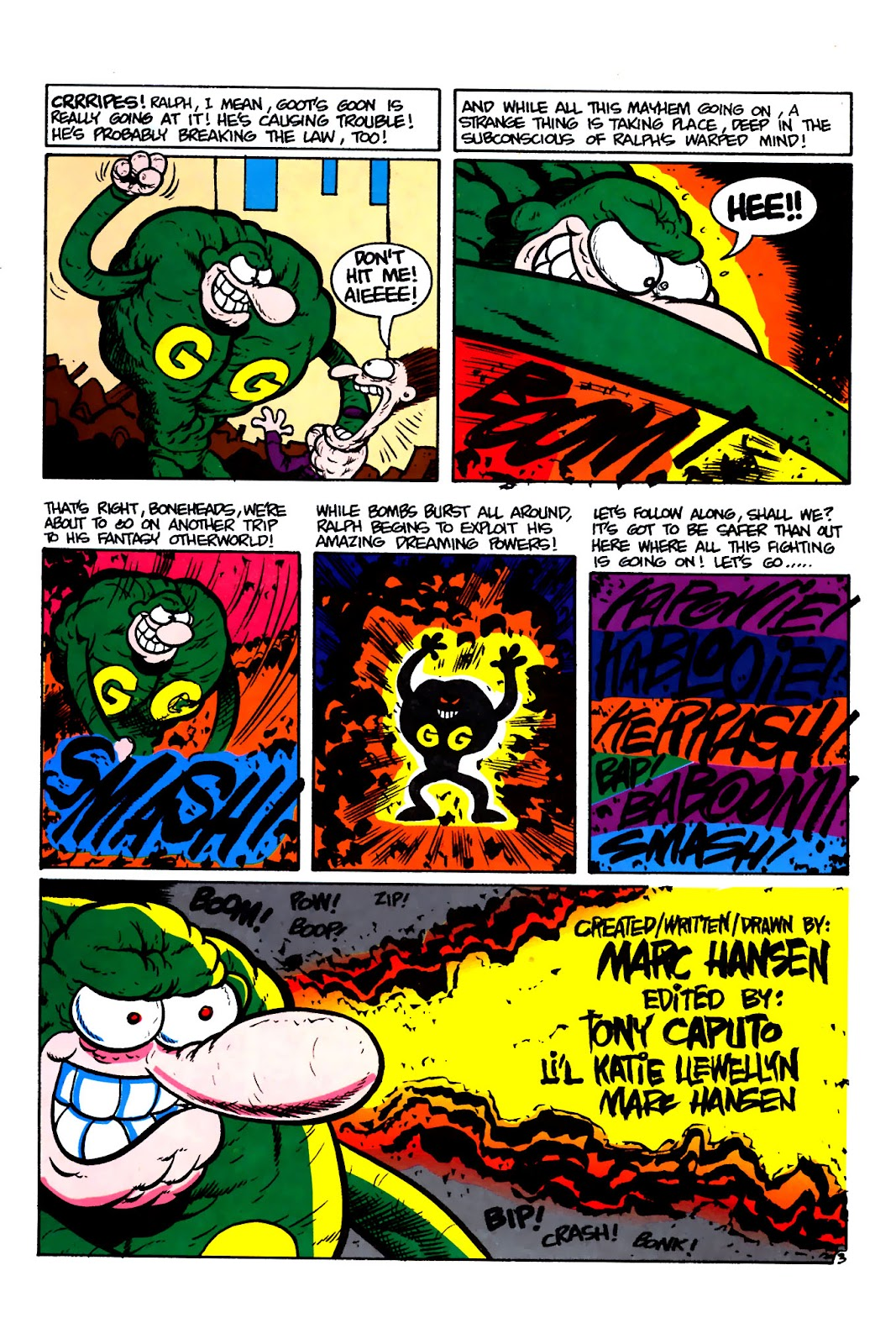 Ralph Snart Adventures (1988) issue 16 - Page 5