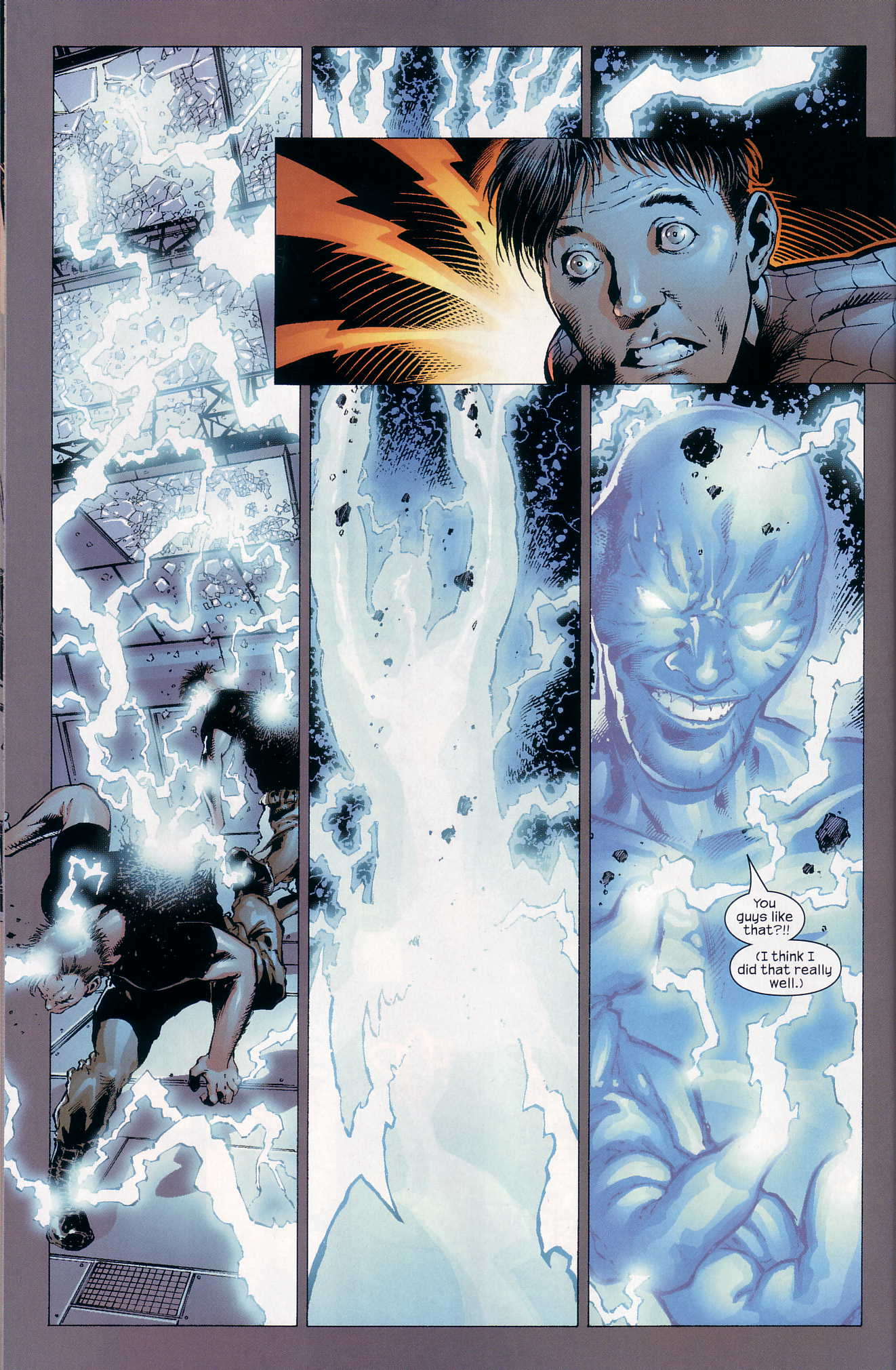 Read online Ultimate Six comic -  Issue #4 - 21