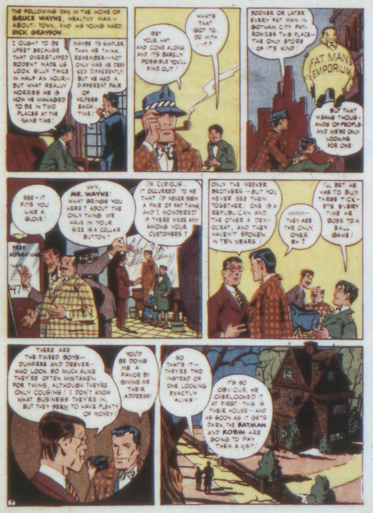 Read online Detective Comics (1937) comic -  Issue #74 - 9