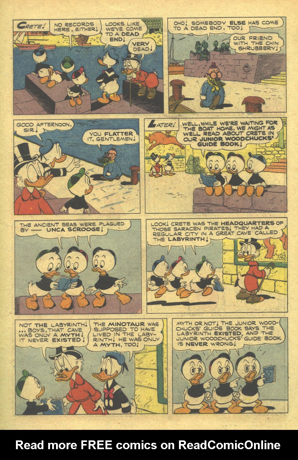 Read online Uncle Scrooge (1953) comic -  Issue #10 - 11