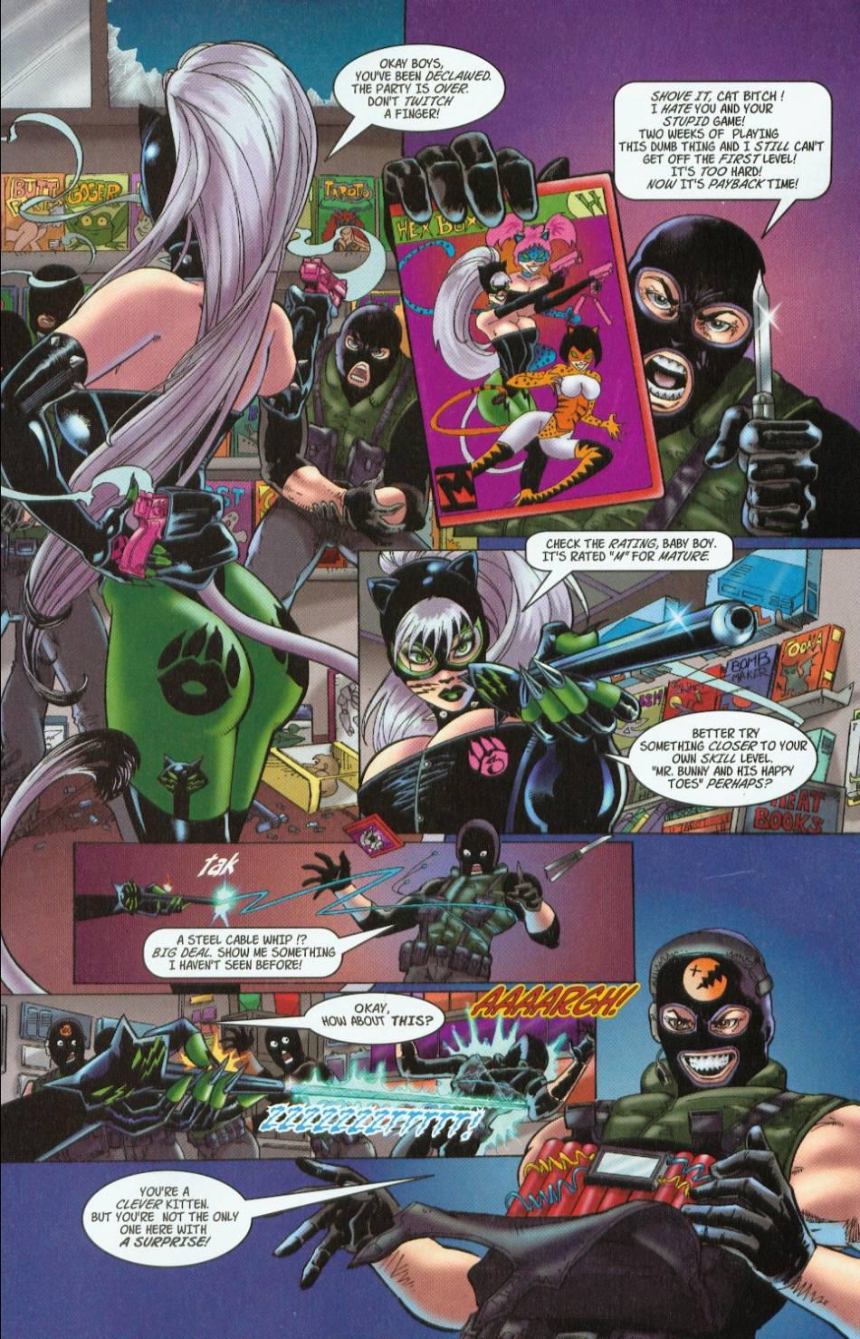 Read online 3 Little Kittens: Purrr-fect Weapons comic -  Issue #1 - 15