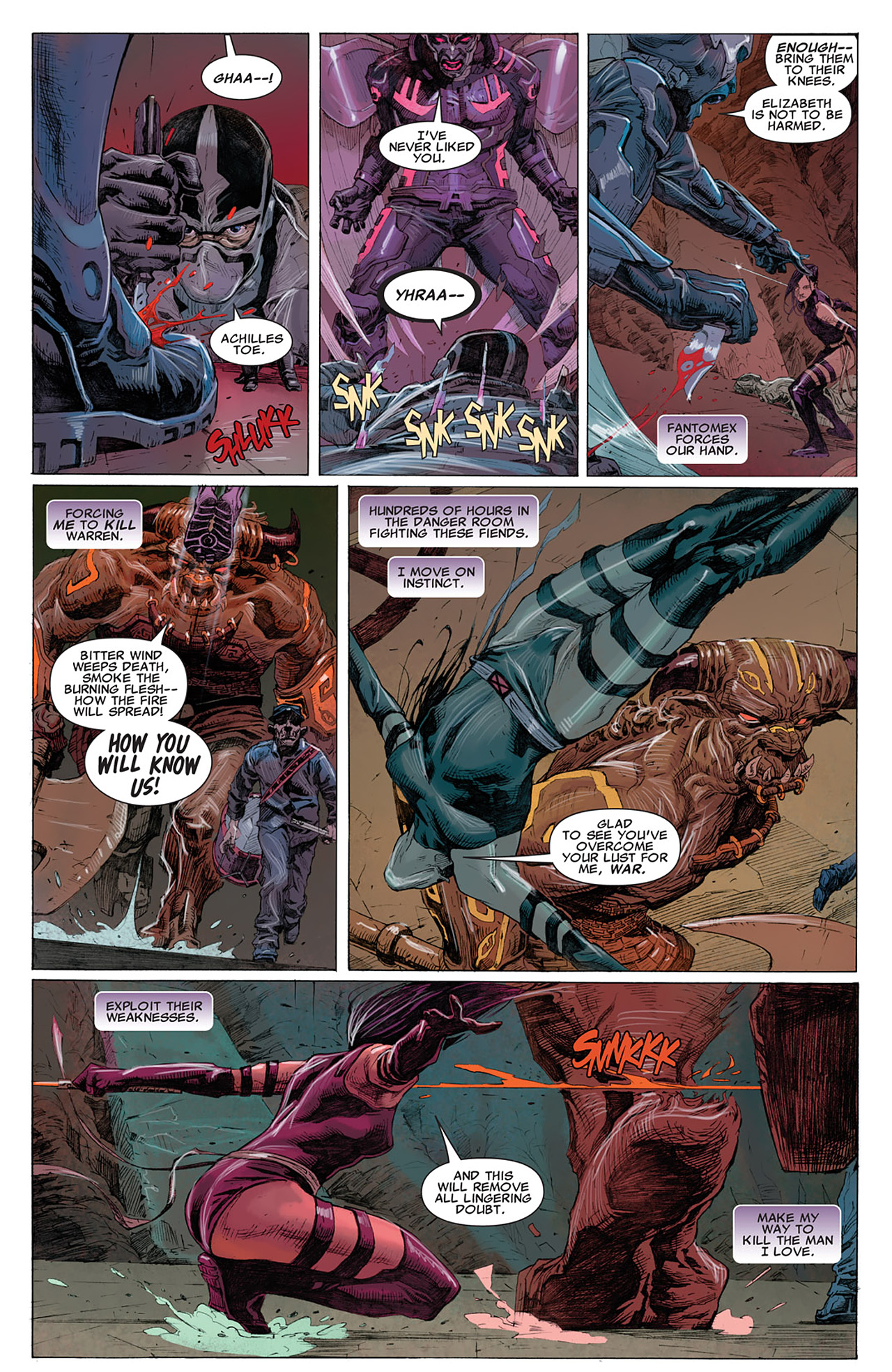 Read online Uncanny X-Force (2010) comic -  Issue #14 - 10