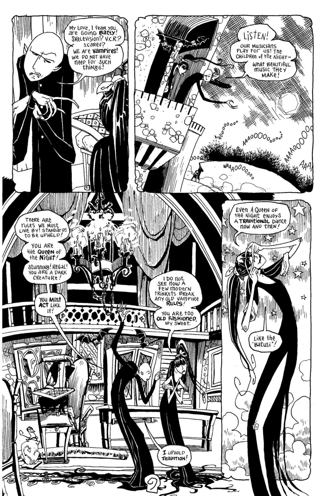 Read online Scary Godmother Comic Book Stories comic -  Issue # TPB - 10