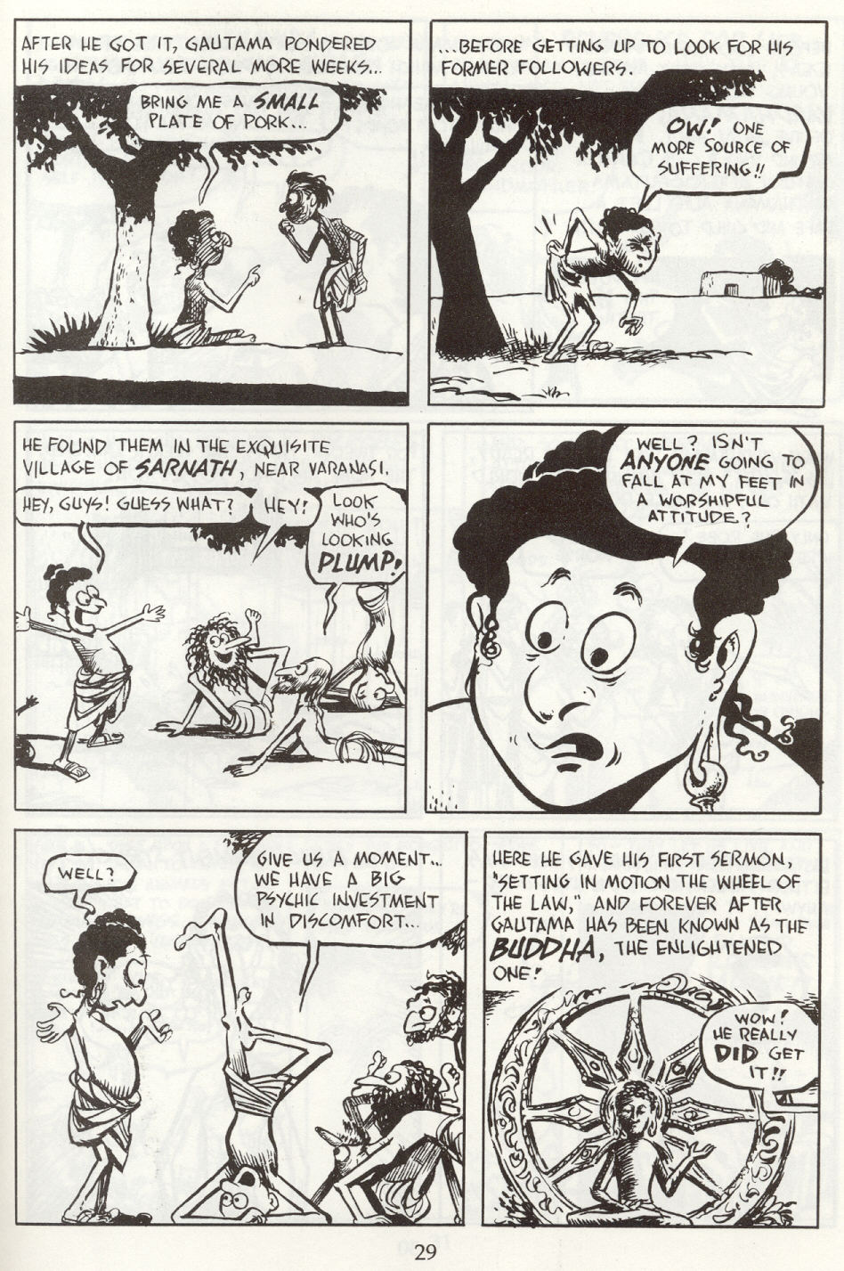 Read online The Cartoon History of the Universe comic -  Issue #8 - 32