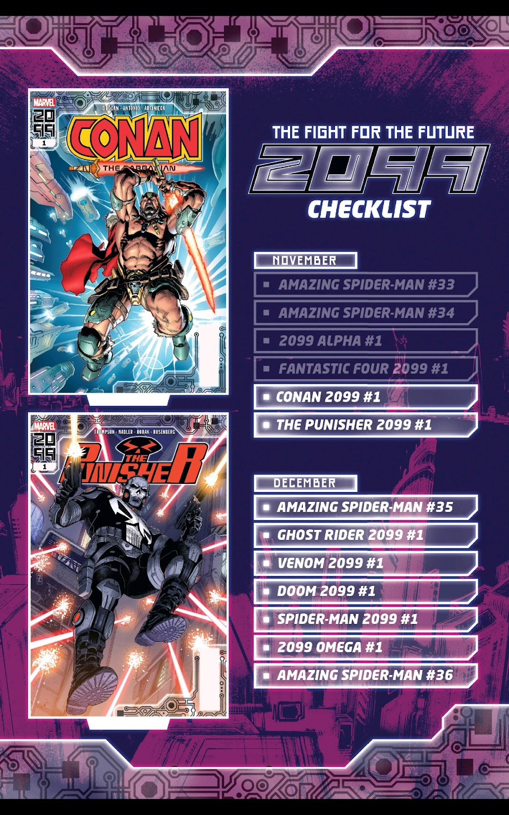 Read online Fantastic Four 2099 (2019) comic -  Issue # Full - 32