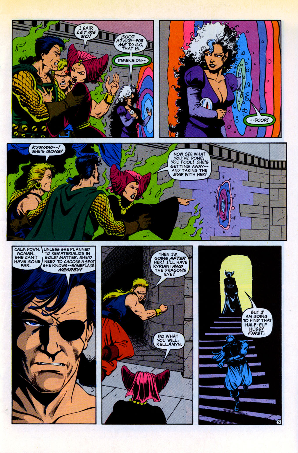 Read online Advanced Dungeons & Dragons comic -  Issue #30 - 5