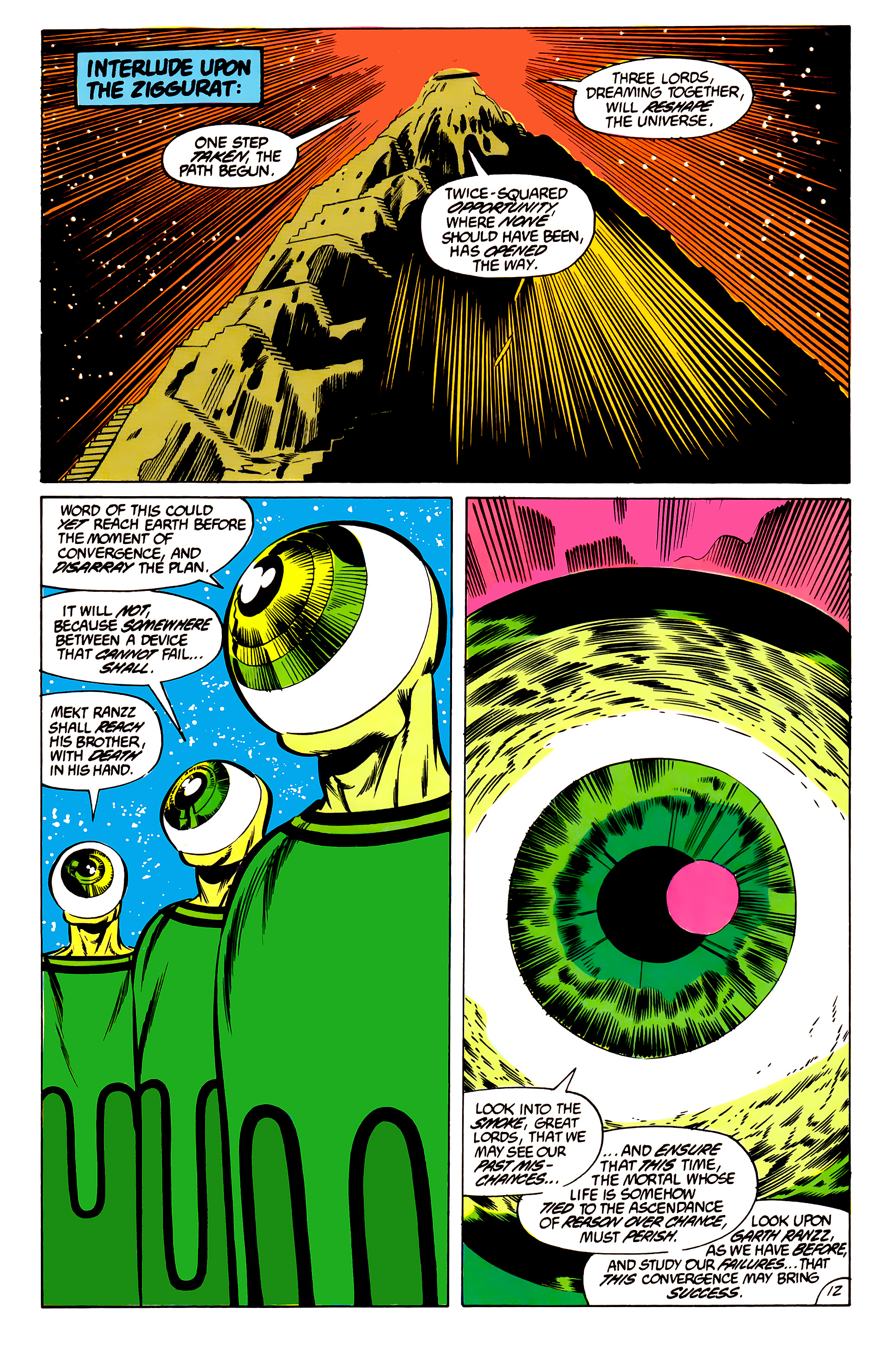 Legion of Super-Heroes (1984) 45 Page 12