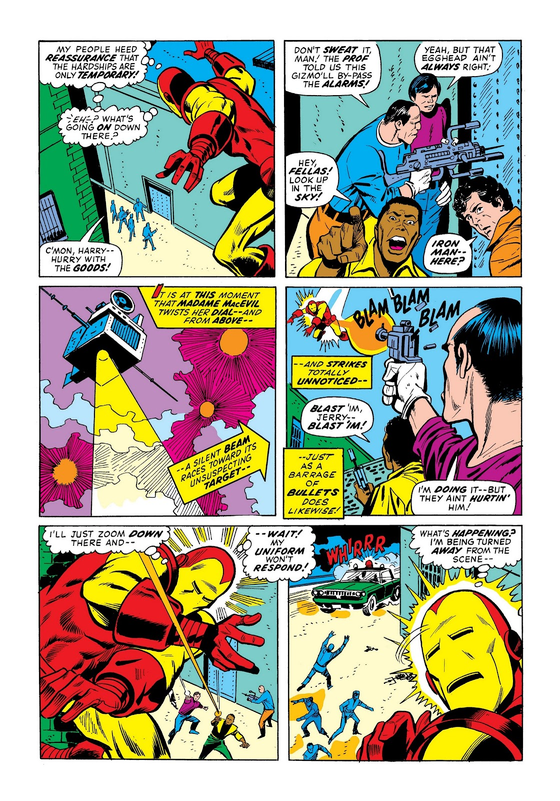 Read online Marvel Masterworks: The Invincible Iron Man comic -  Issue # TPB 9 (Part 1) - 14