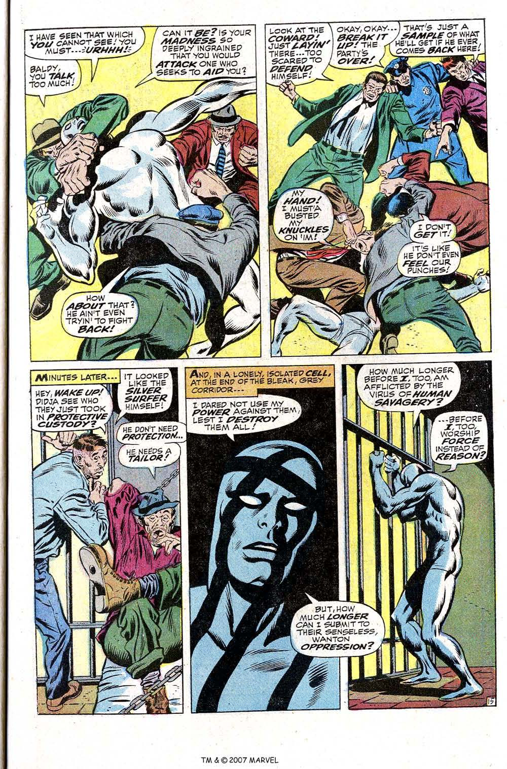 Read online Silver Surfer (1968) comic -  Issue #2 - 21