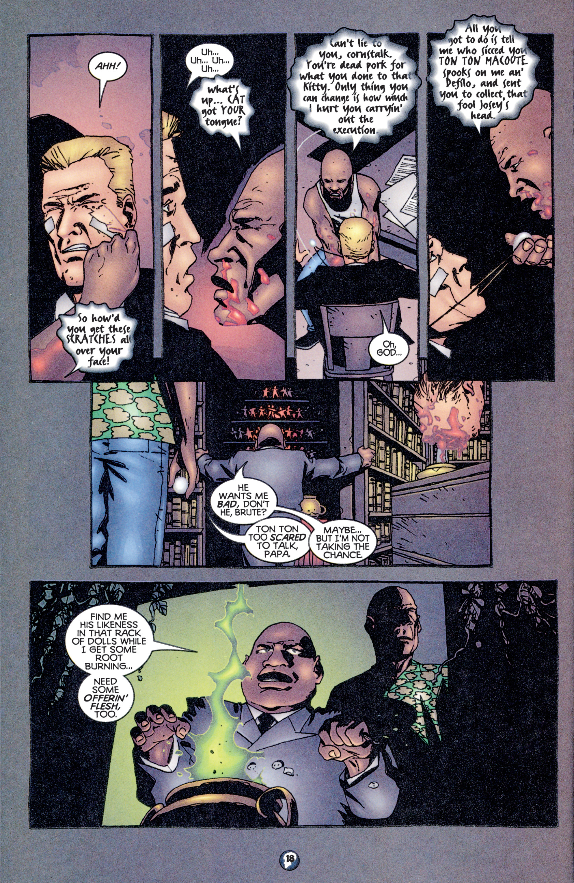 Read online Shadowman (1997) comic -  Issue #12 - 15