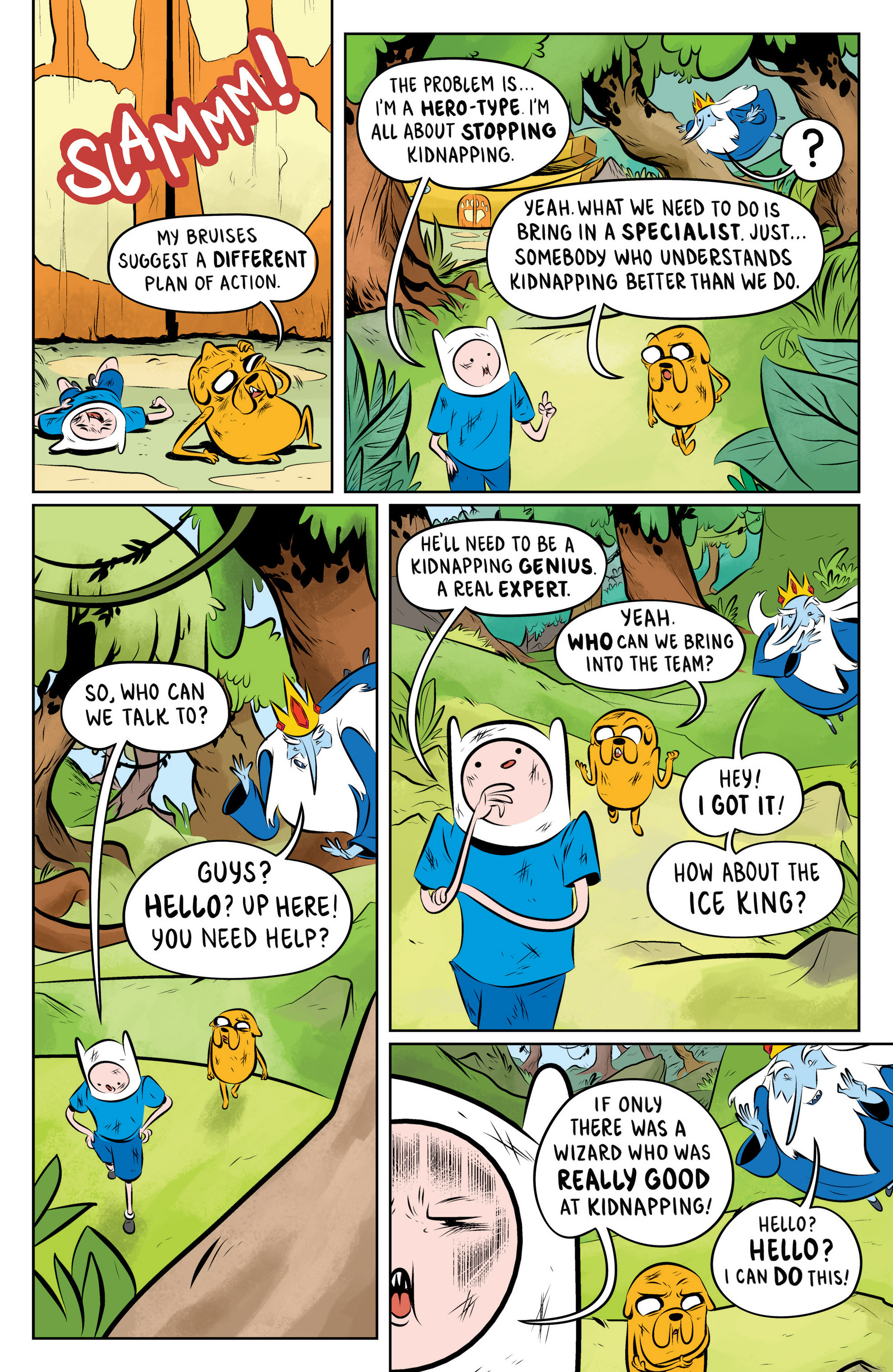 Read online Adventure Time: The Flip Side comic -  Issue #2 - 12