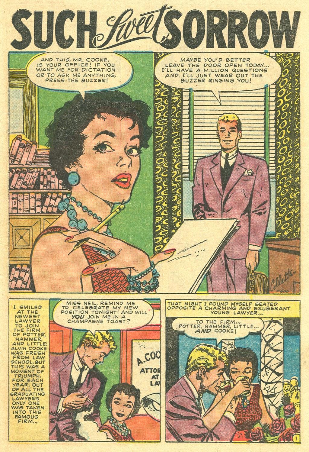 Love Romances (1949) issue 48 - Page 27