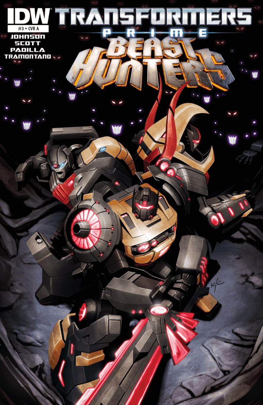 Read online Transformers Prime: Beast Hunters comic -  Issue #3 - 1