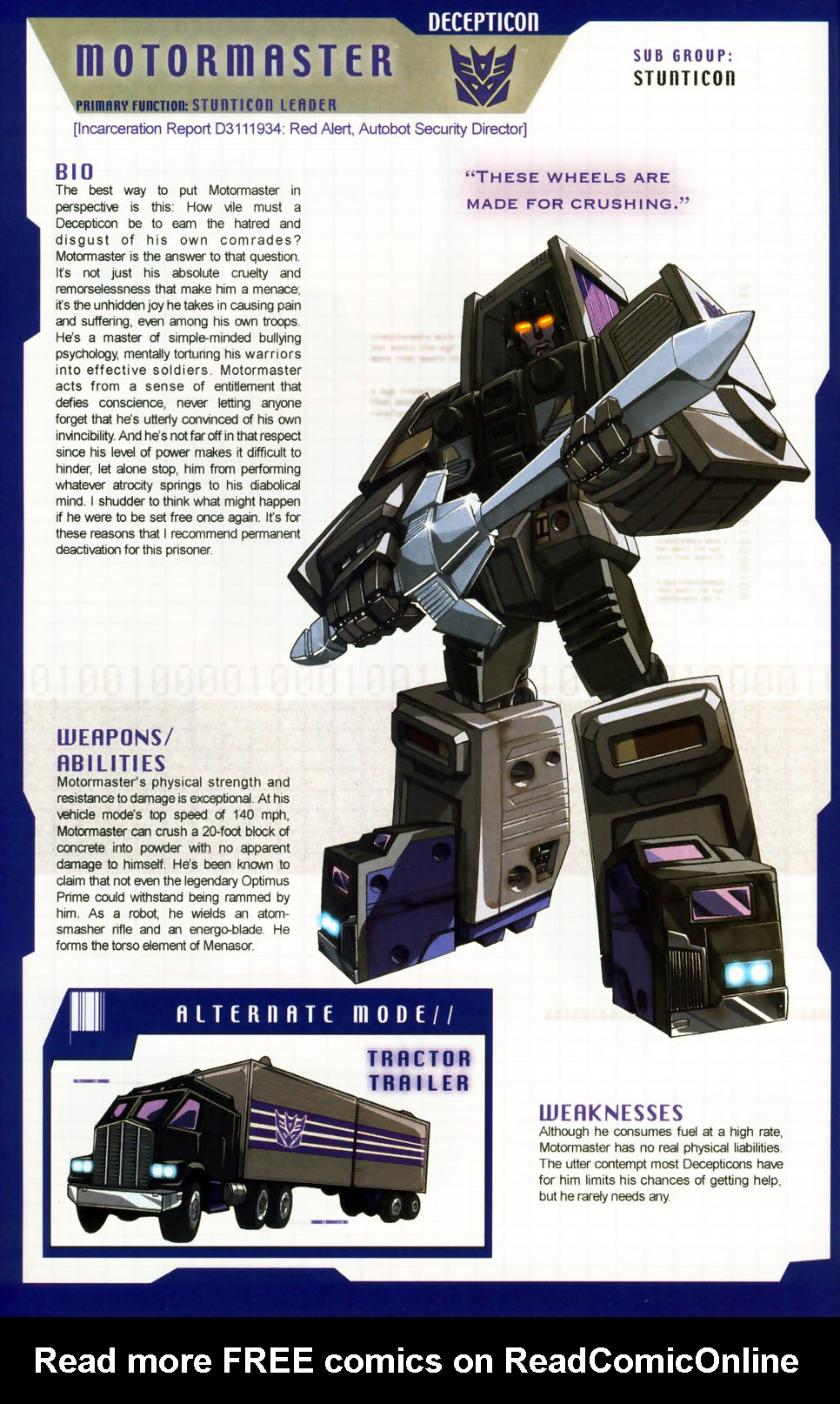 Read online Transformers: More than Meets the Eye comic -  Issue #6 - 54