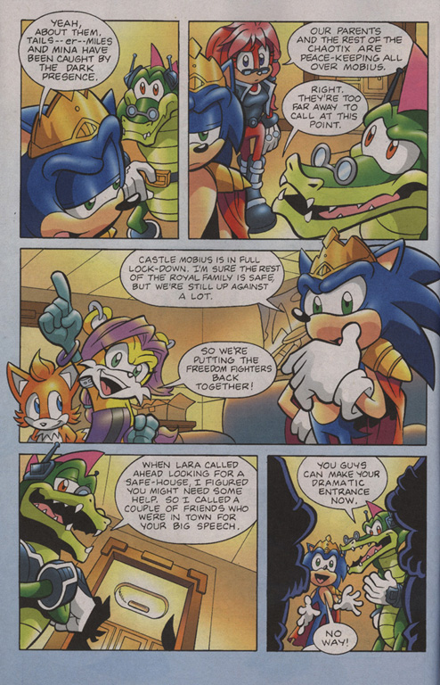 Read online Sonic Universe comic -  Issue #7 - 5