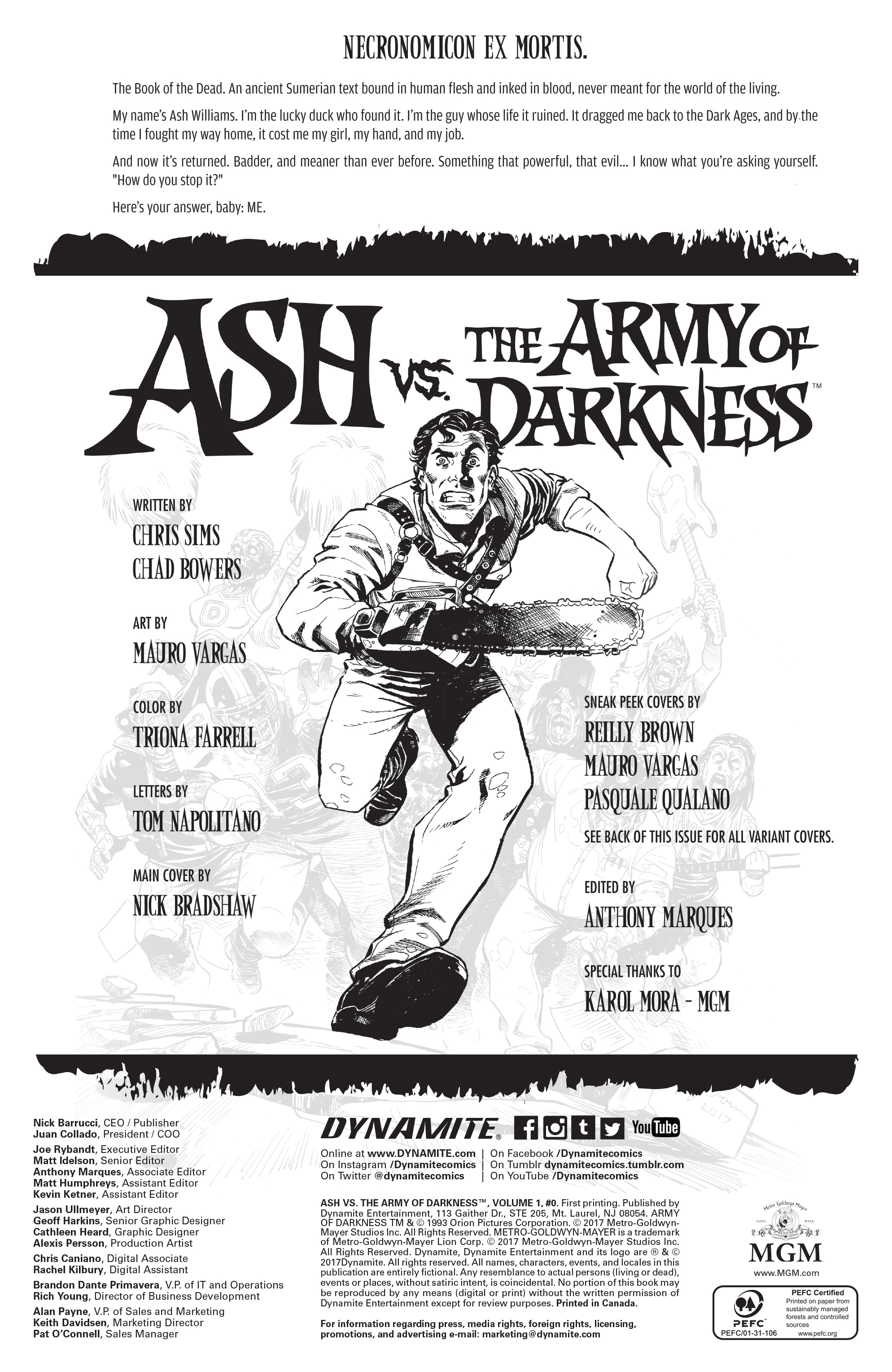 Read online Ash Vs. The Army of Darkness comic -  Issue #0 - 5