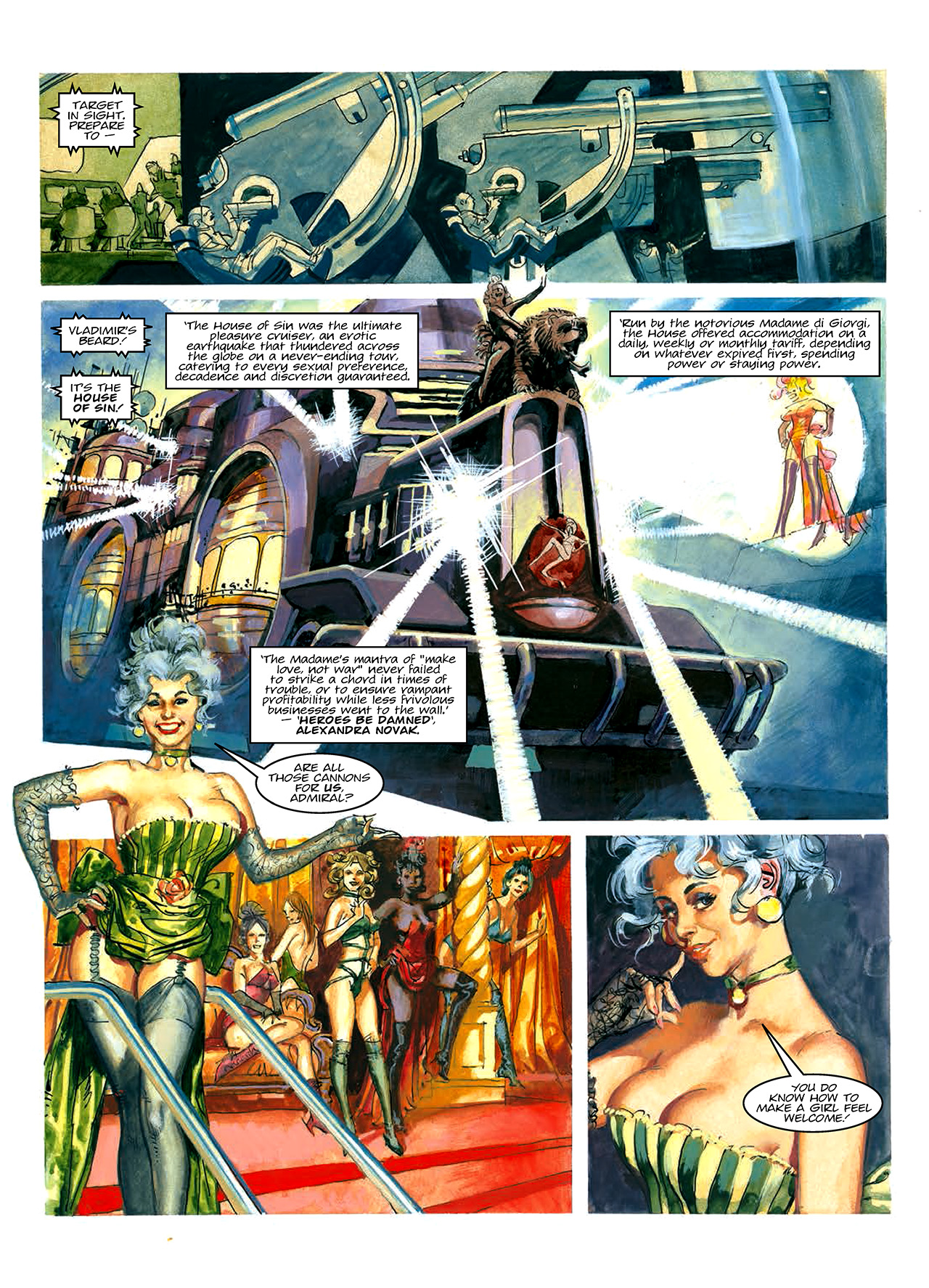 Read online Nikolai Dante comic -  Issue # TPB 10 - 14