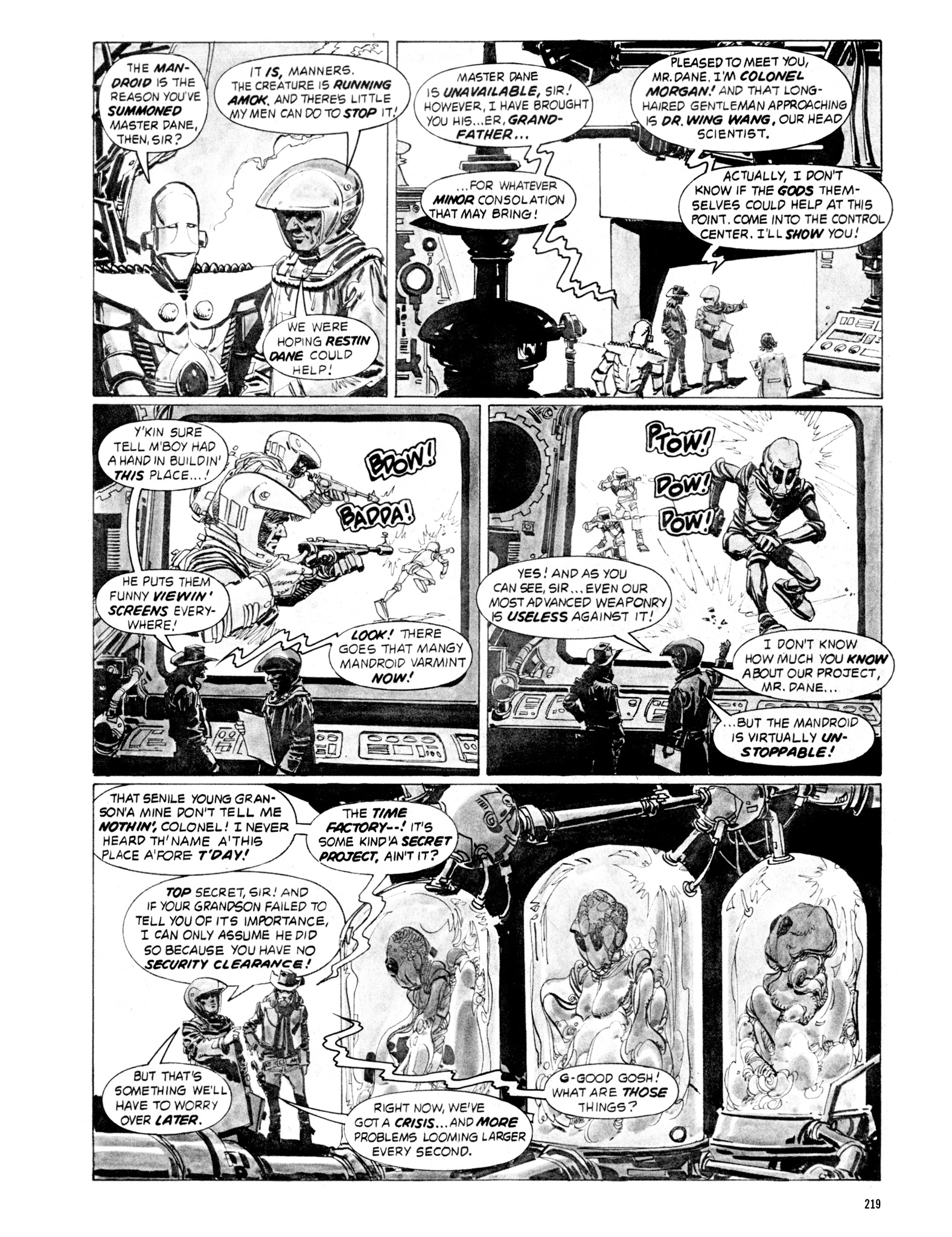 Read online Eerie Archives comic -  Issue # TPB 18 - 216