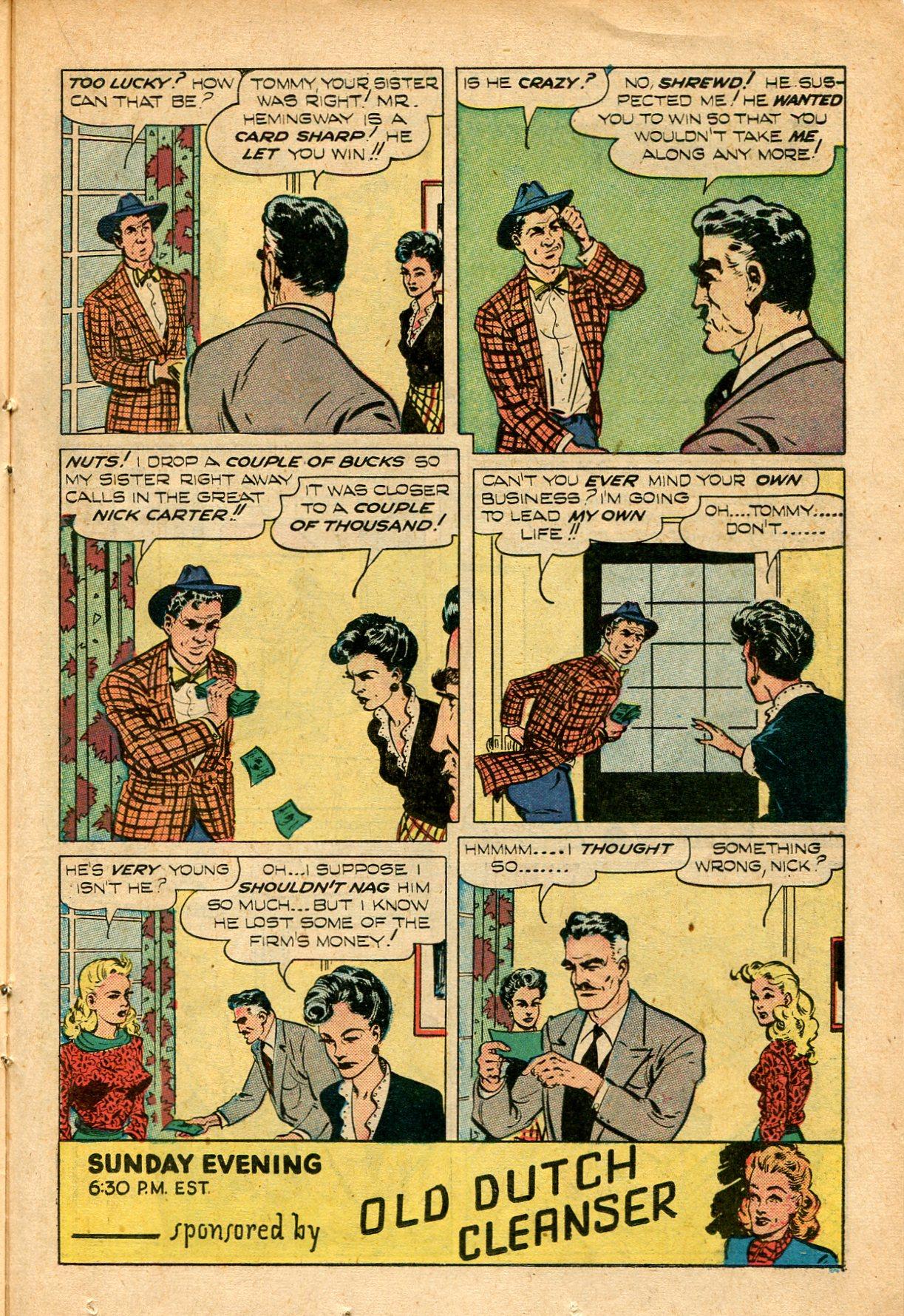 Read online Shadow Comics comic -  Issue #82 - 31